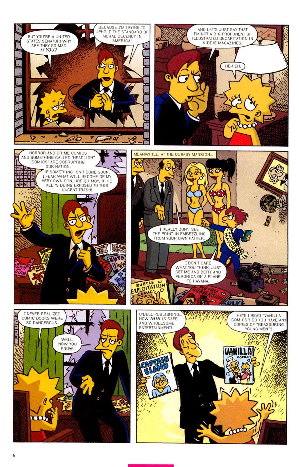 Read online Treehouse of Horror comic -  Issue #11 - 47