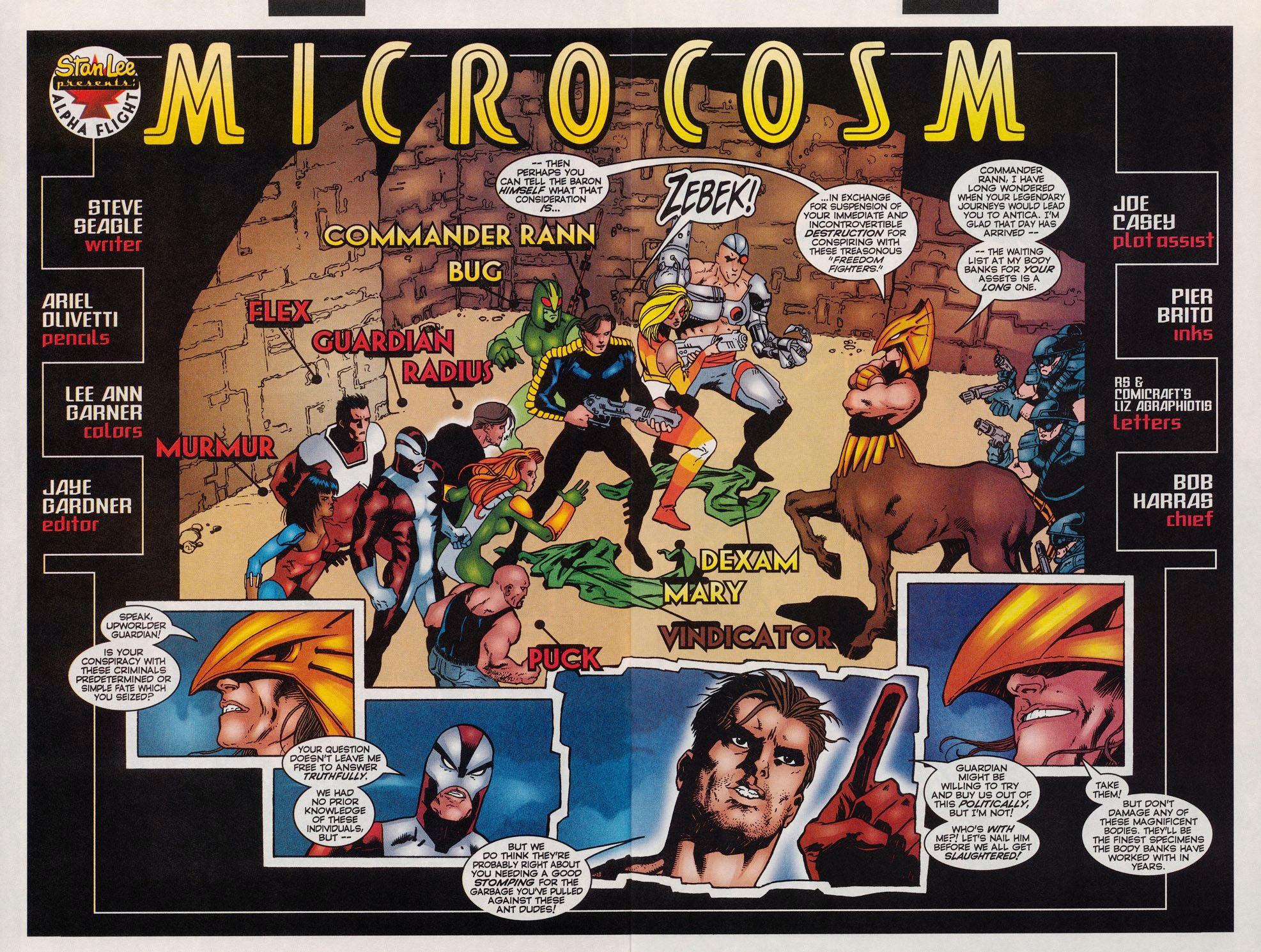 Read online Alpha Flight (1997) comic -  Issue #11 - 3