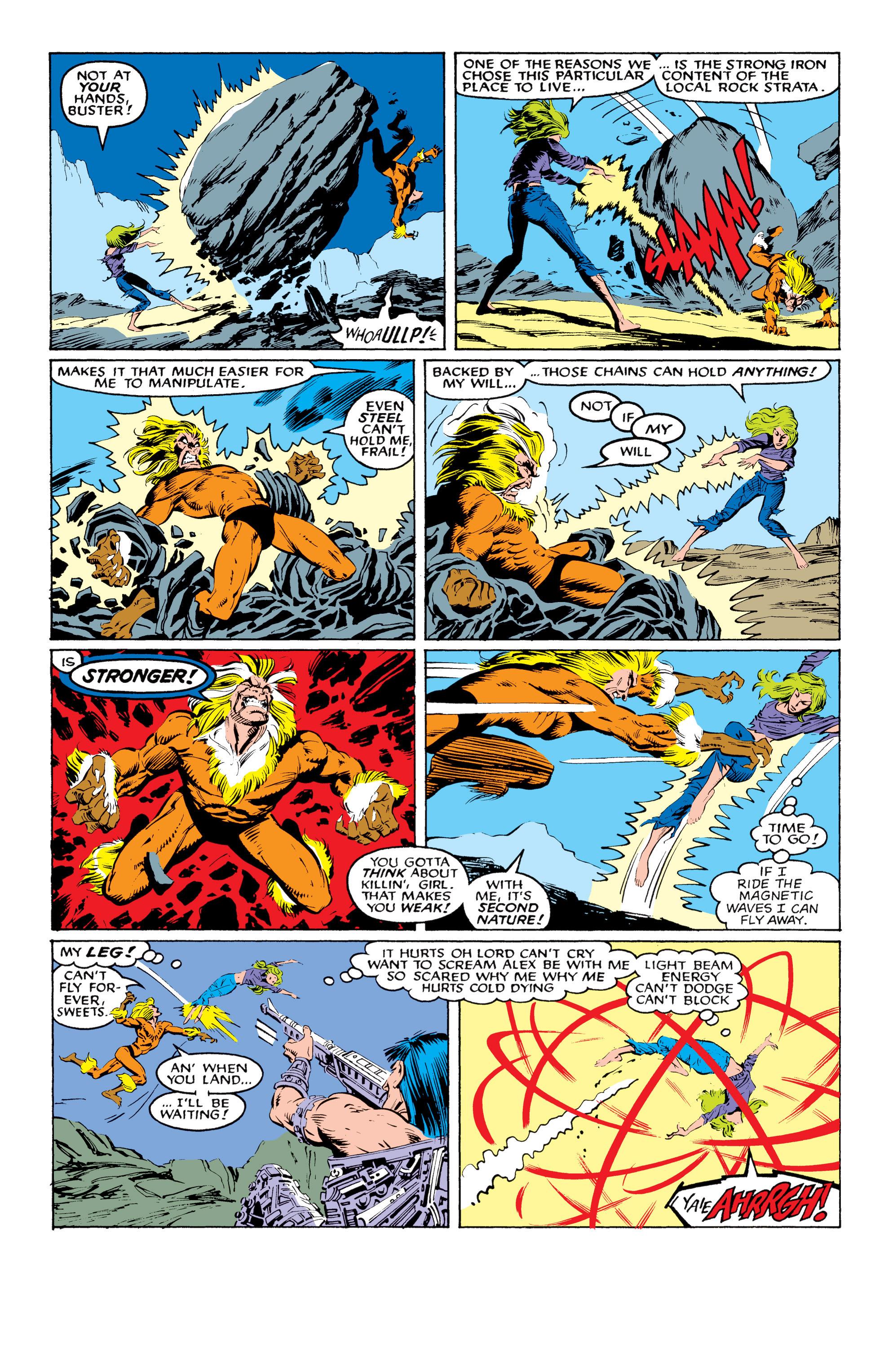 Read online Uncanny X-Men (1963) comic -  Issue #219 - 15