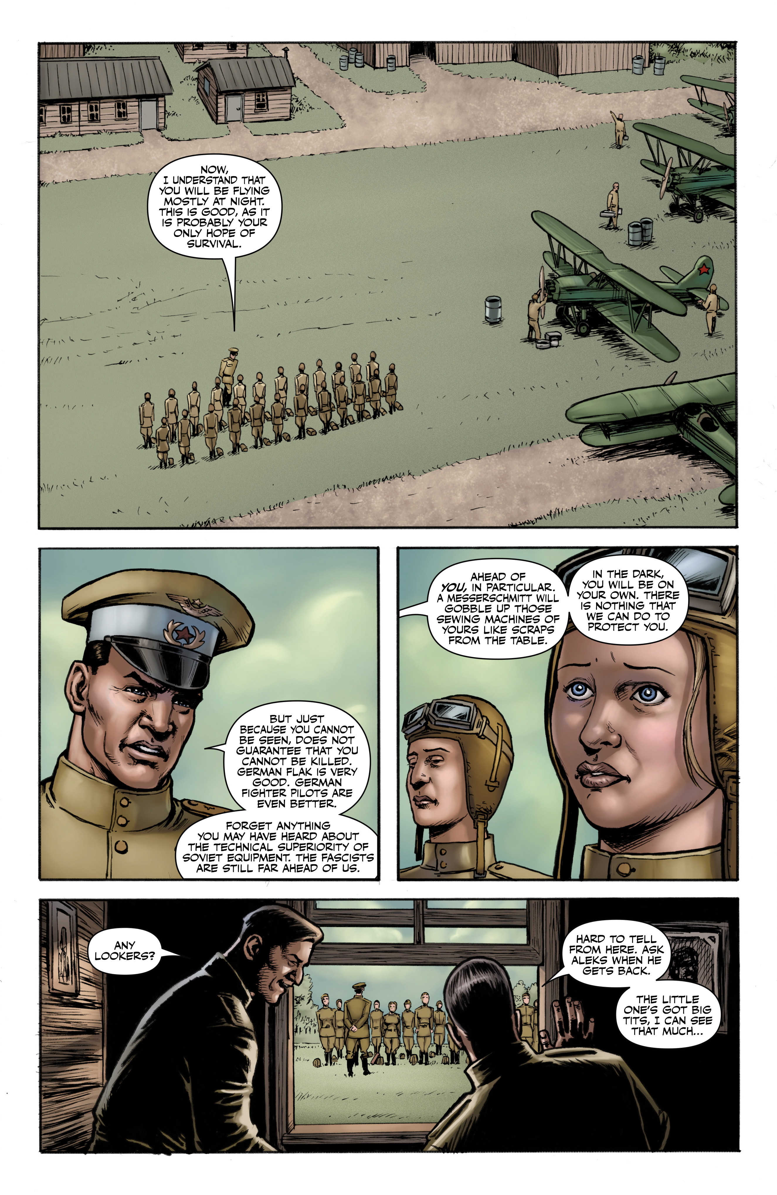 Read online Battlefields: Night Witches comic -  Issue # TPB - 9