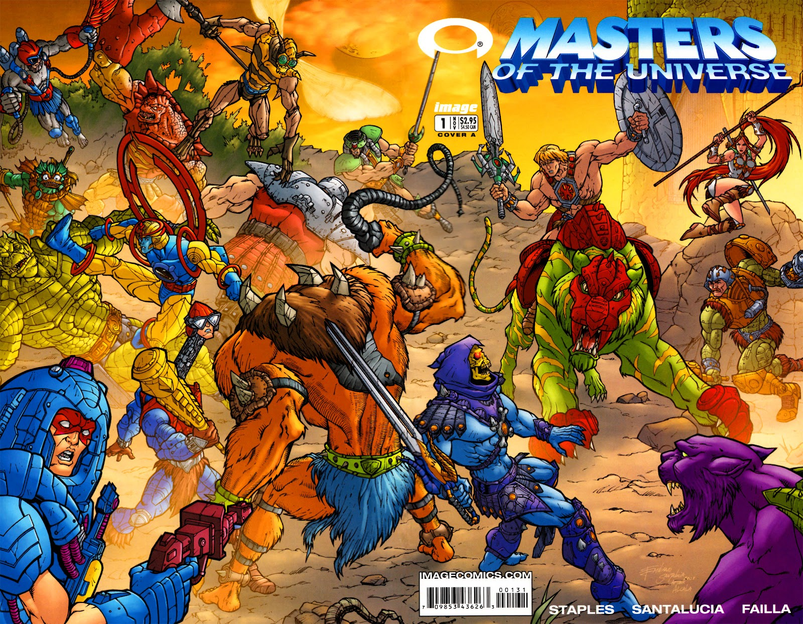 Masters of the Universe (2002) issue 1 - Page 1
