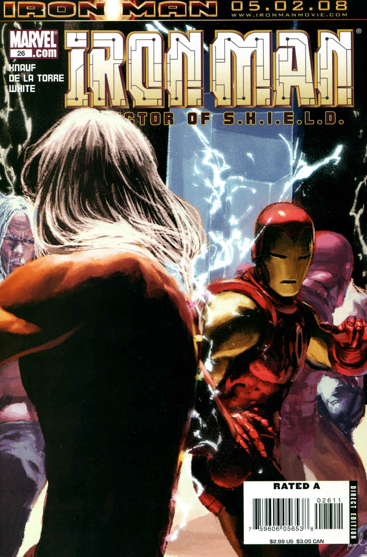 The Invincible Iron Man (2007) 26 Page 1