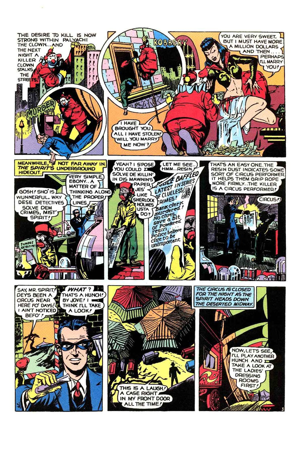 Read online Will Eisner's The Spirit Archives comic -  Issue # TPB 1 (Part 1) - 60