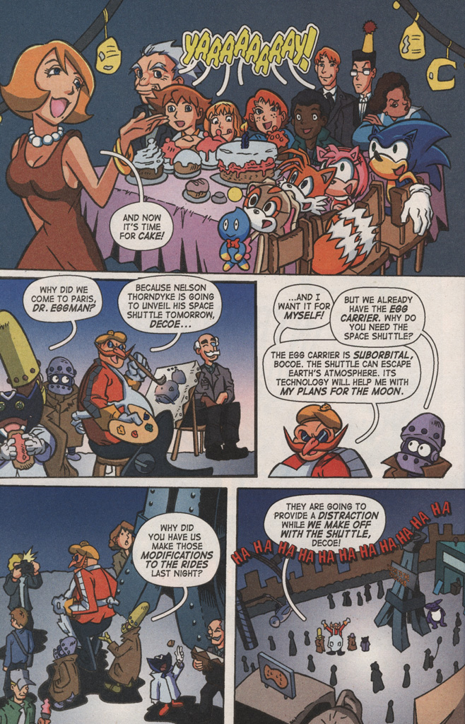 Read online Sonic X comic -  Issue #8 - 8