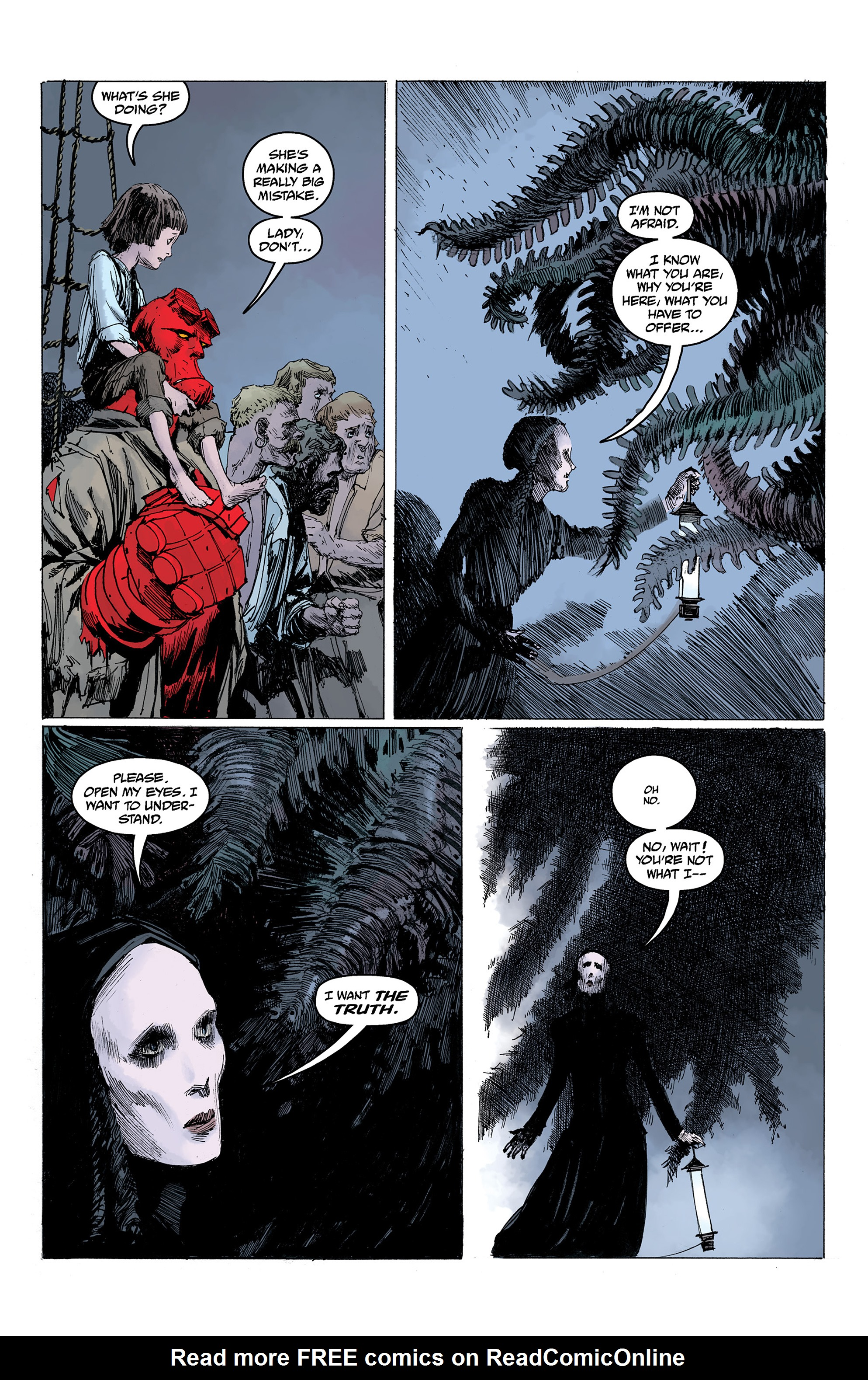 Read online Hellboy: Into the Silent Sea comic -  Issue # Full - 51
