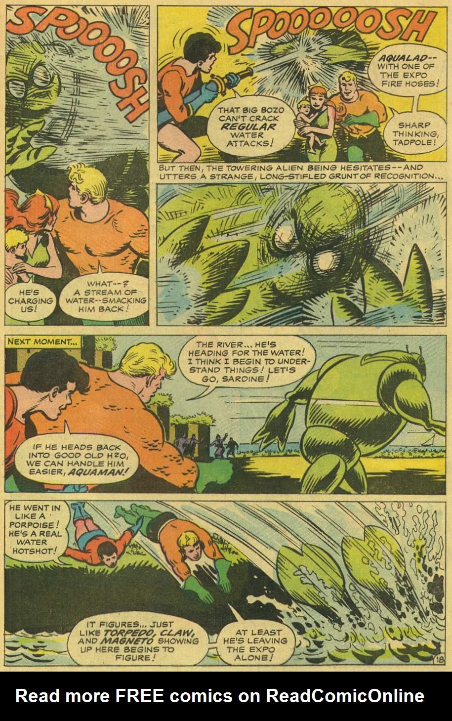 Read online Aquaman (1962) comic -  Issue #36 - 28