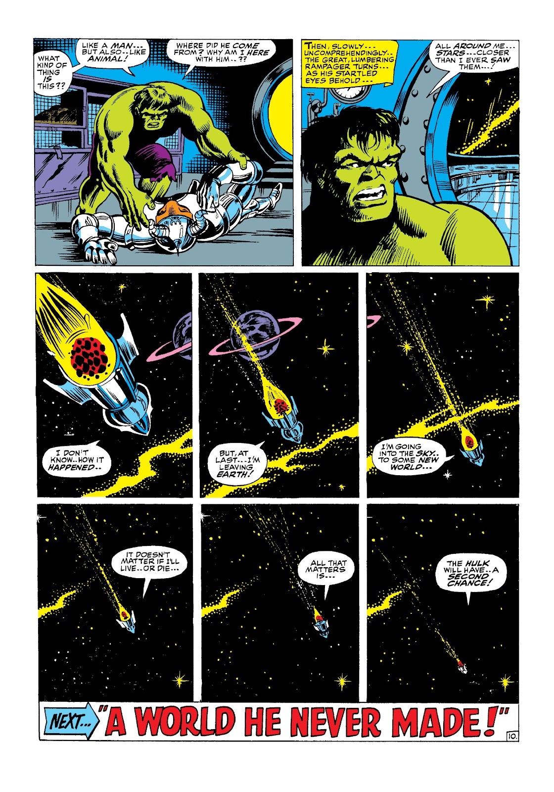 Read online Marvel Masterworks: The Incredible Hulk comic -  Issue # TPB 3 (Part 2) - 71