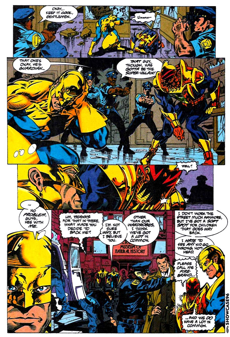 Read online Showcase '96 comic -  Issue #4 - 6