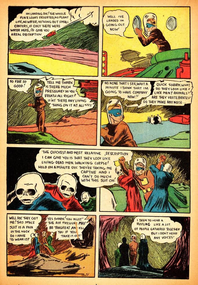 Read online Amazing Man Comics comic -  Issue #12 - 38