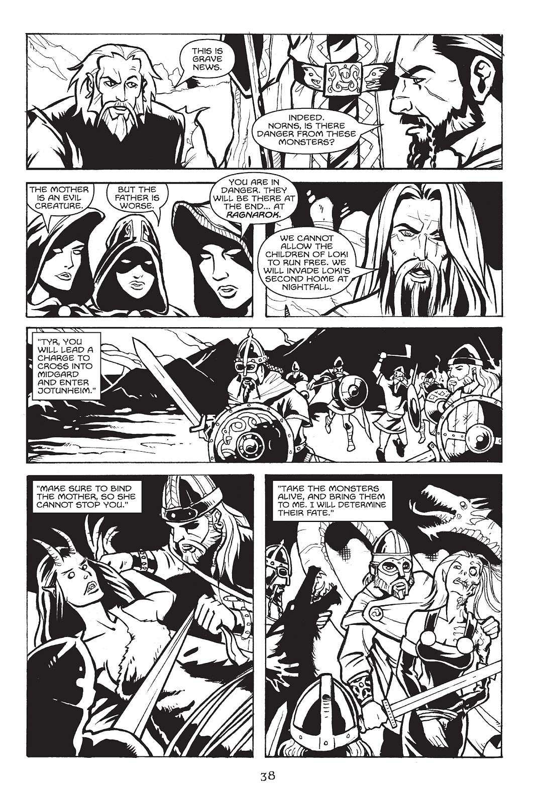 Read online Gods of Asgard comic -  Issue # TPB (Part 1) - 39