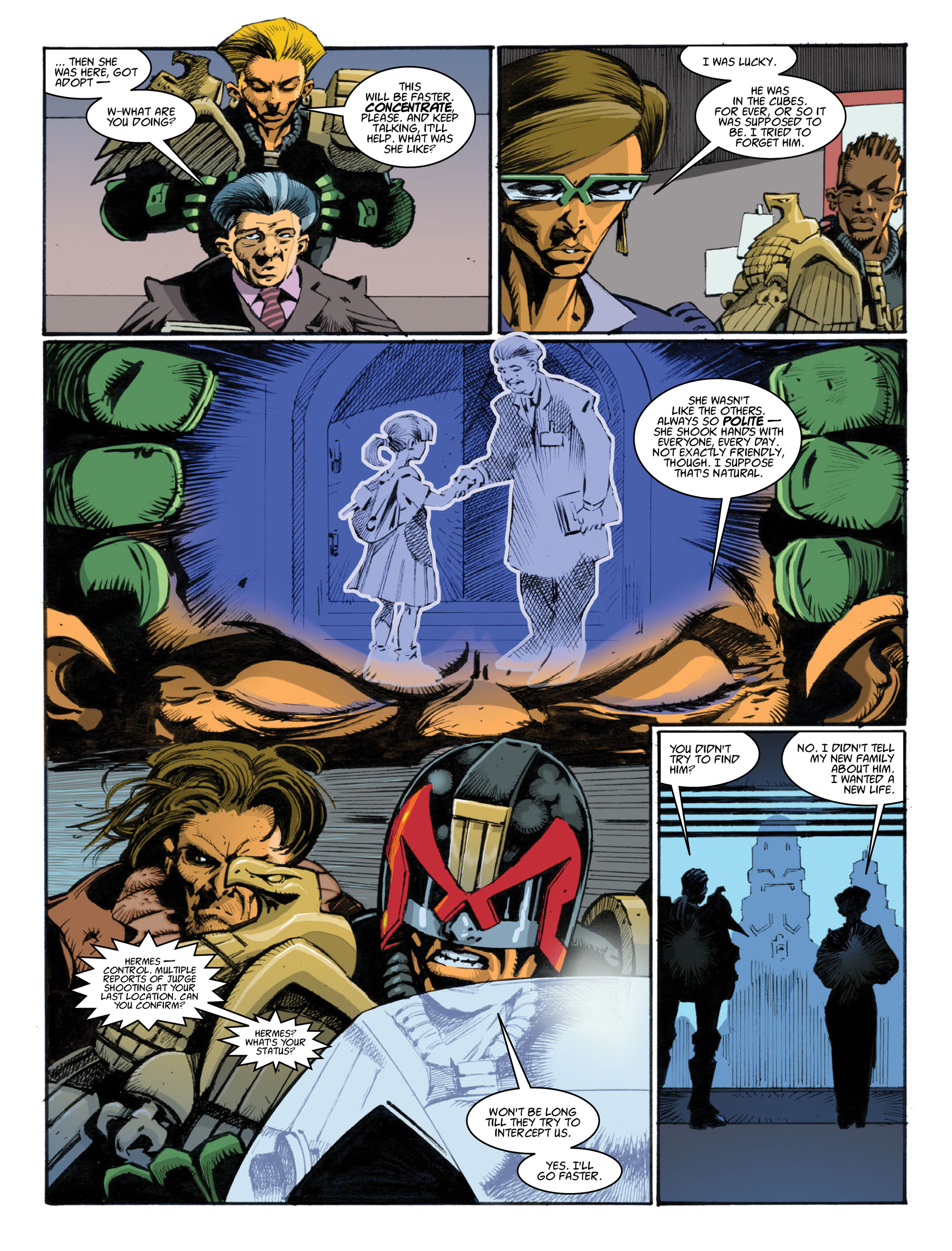 Read online 2000 AD comic -  Issue #1996 - 26