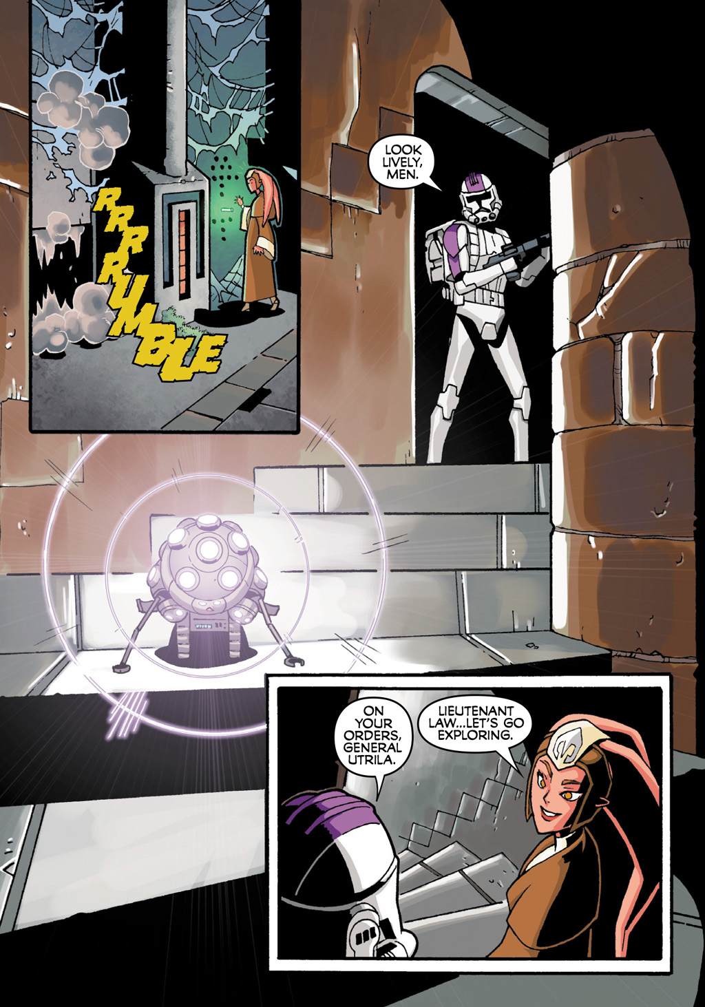 Read online Star Wars: The Clone Wars - Defenders of the Lost Temple comic -  Issue # Full - 27
