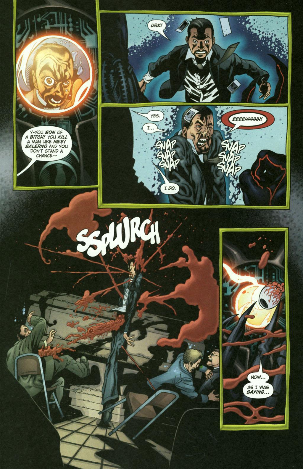 Read online Aquaman (2003) comic -  Issue #21 - 20