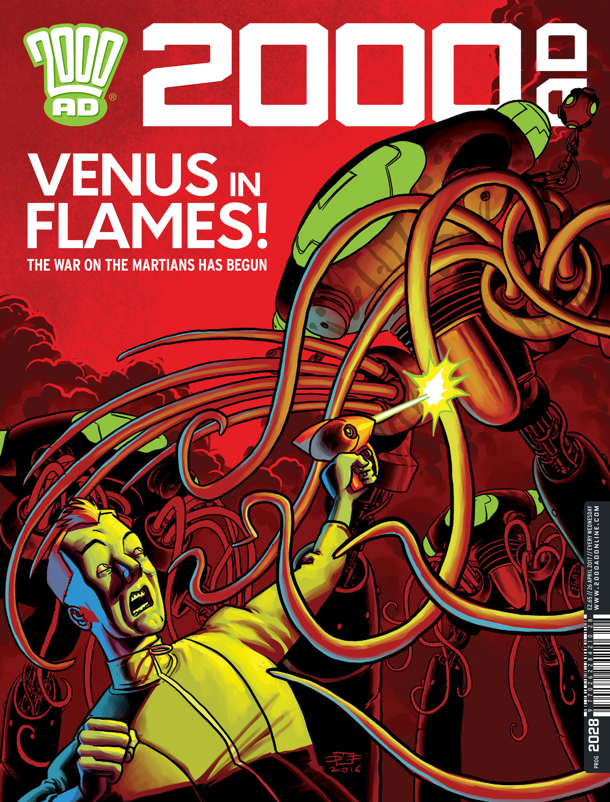 Read online 2000 AD comic -  Issue #2028 - 1