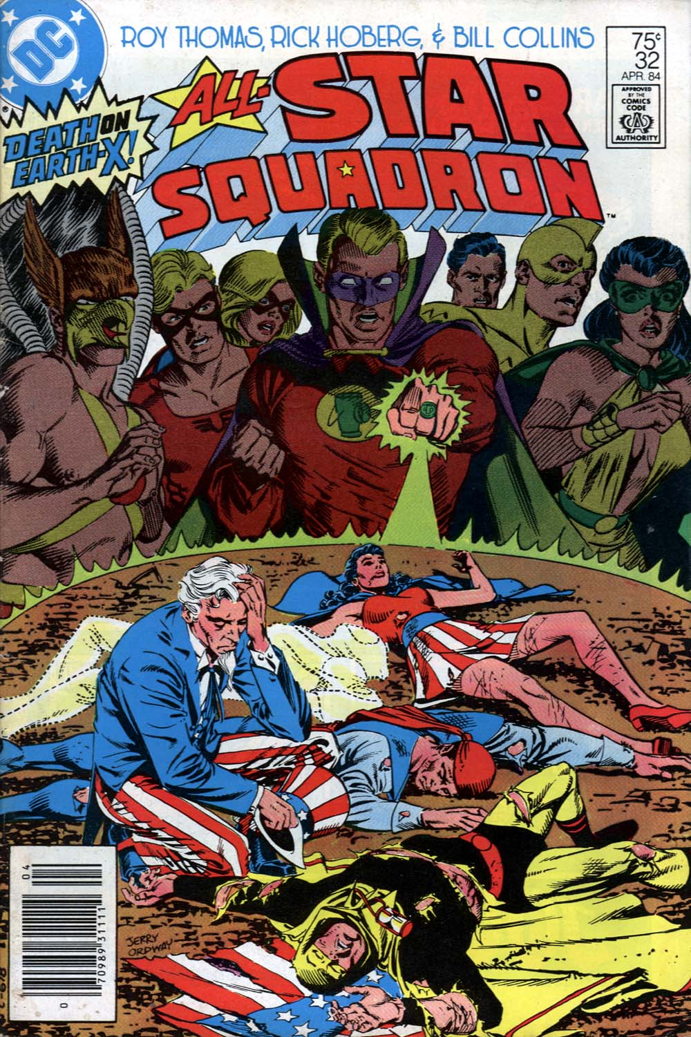 All-Star Squadron 32 Page 1