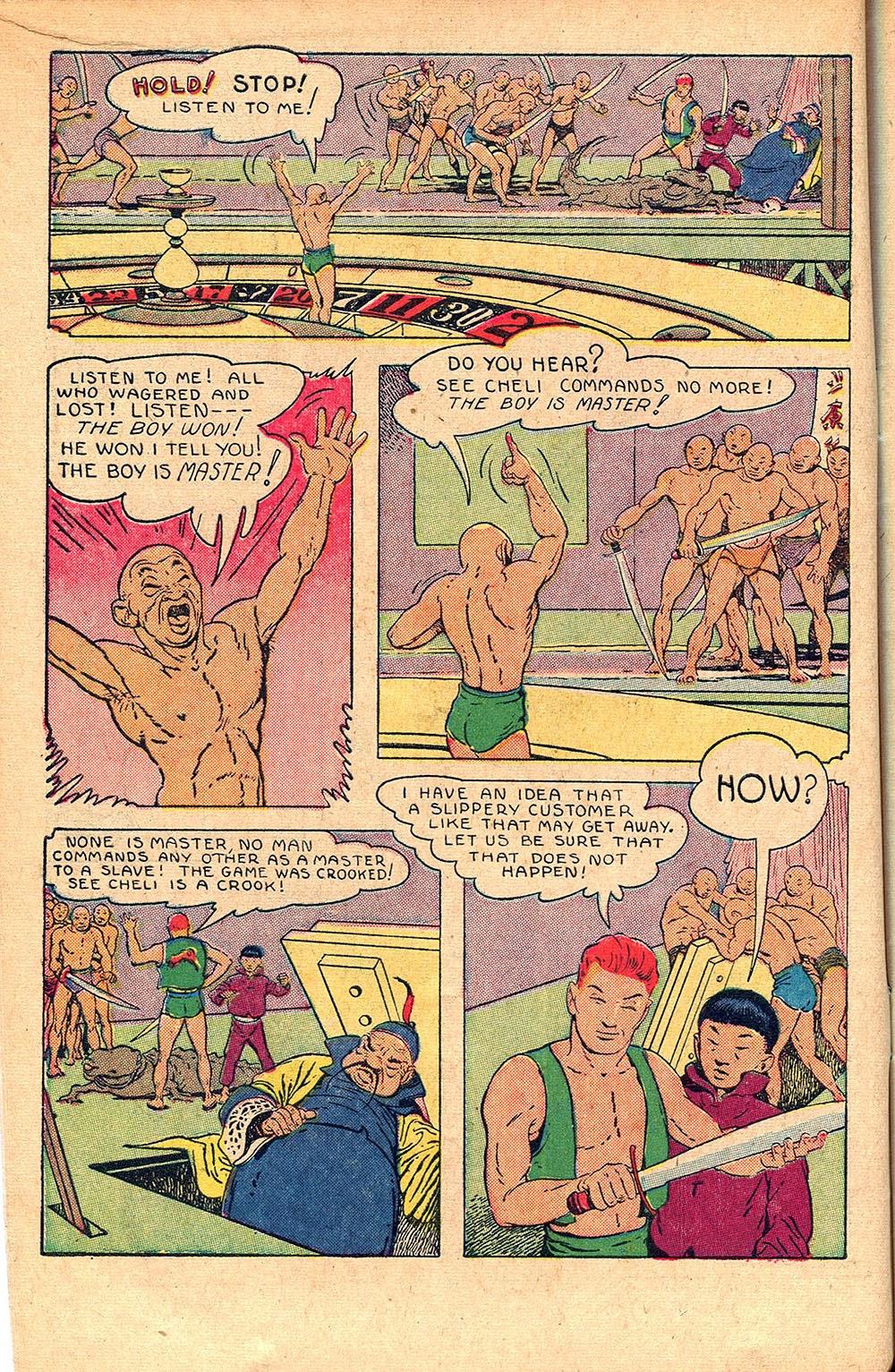 Read online Super-Magician Comics comic -  Issue #55 - 14