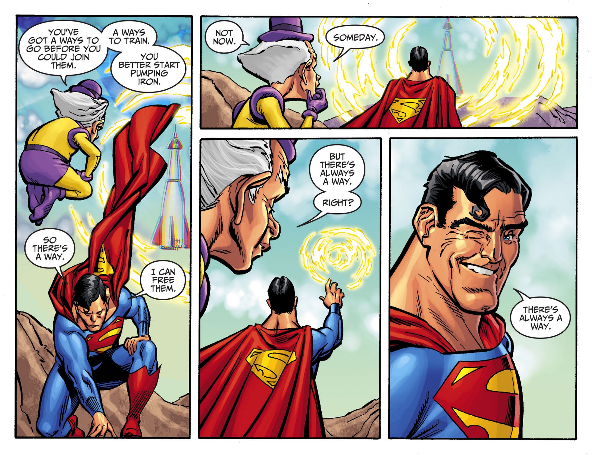 Read online Adventures of Superman [I] comic -  Issue #47 - 18