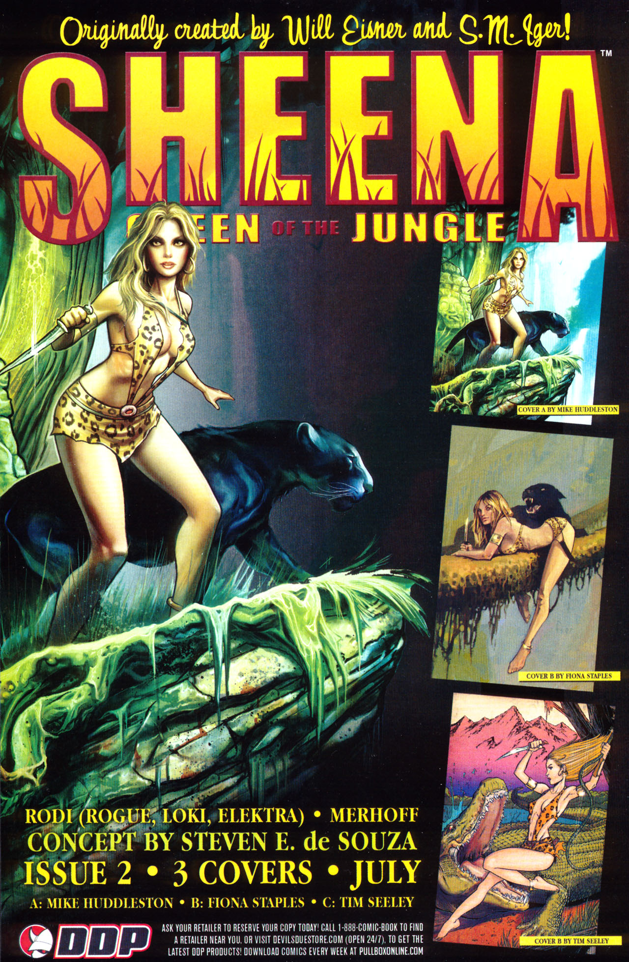 Read online Sheena, Queen of the Jungle comic -  Issue #1 - 25