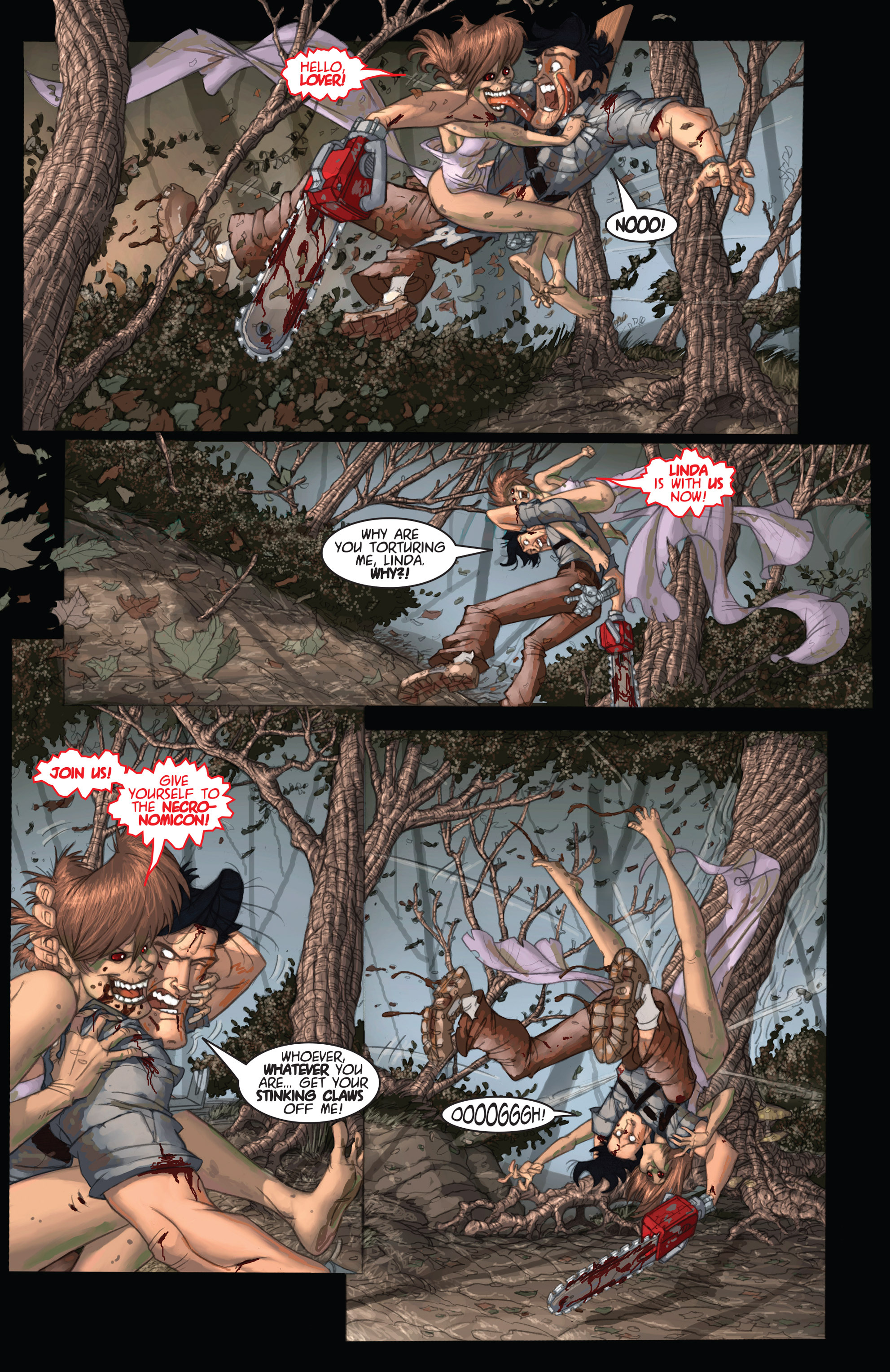 Read online Army of Darkness: Ashes 2 Ashes comic -  Issue #2 - 10