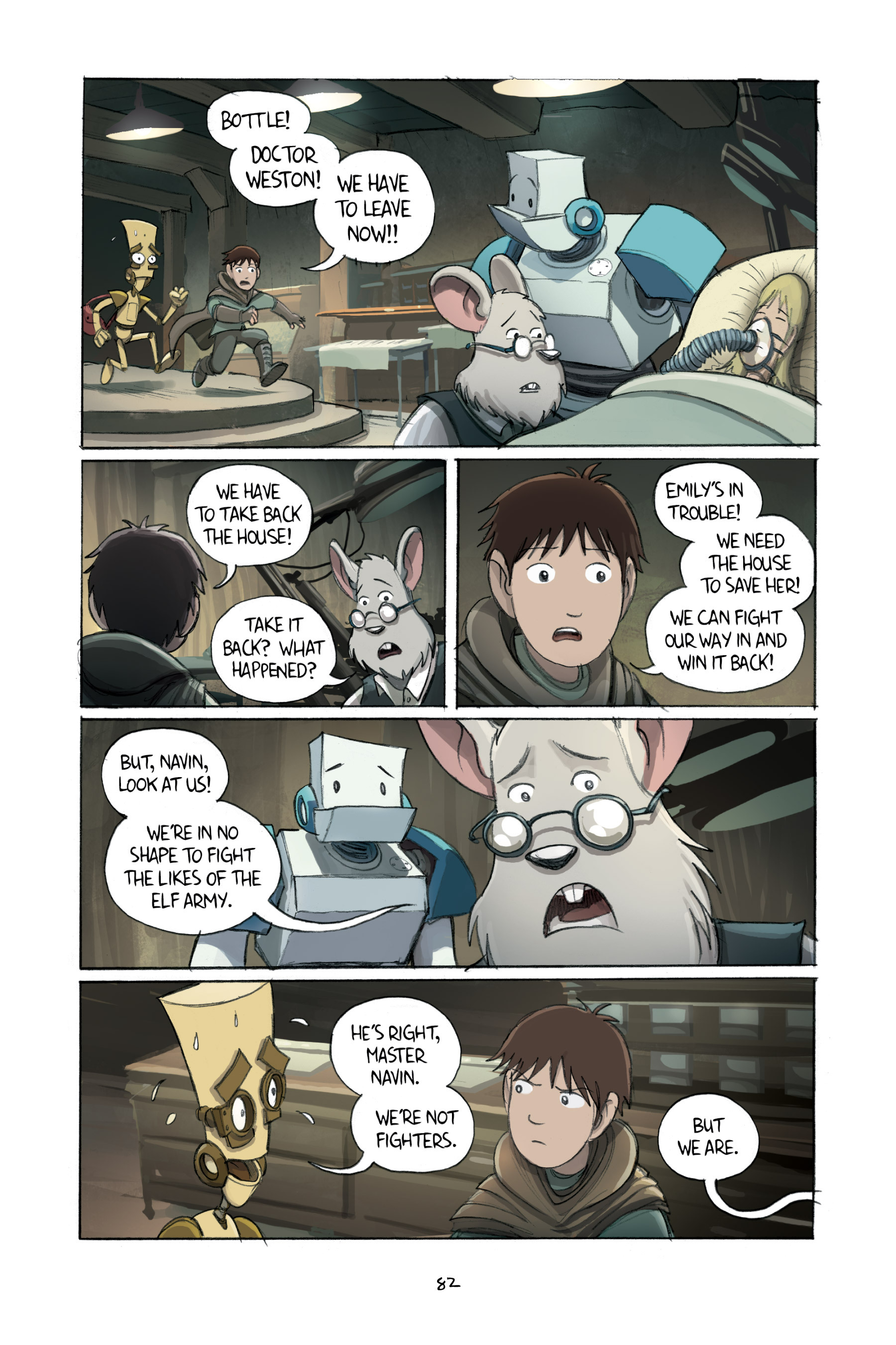 Read online Amulet comic -  Issue #2 - 83