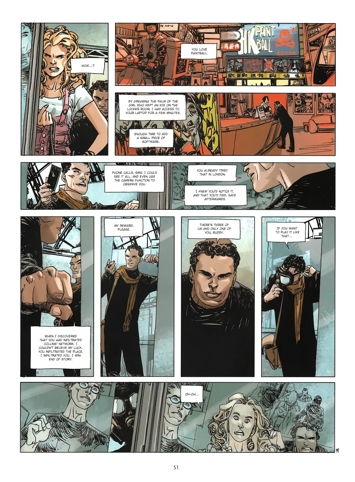 Read online Cutting Edge (2013) comic -  Issue #3 - 47