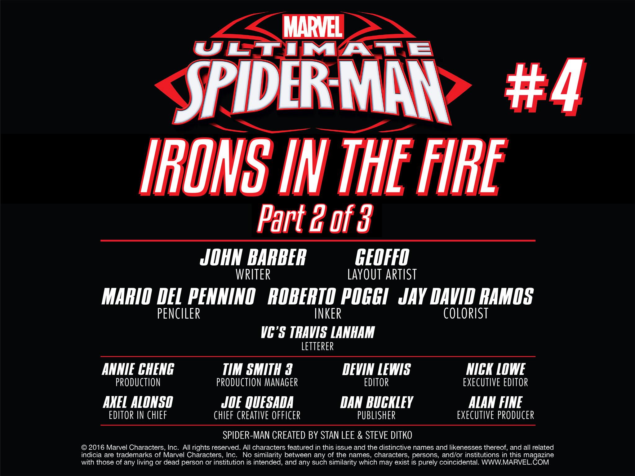Read online Ultimate Spider-Man (Infinite Comics) (2016) comic -  Issue #4 - 13