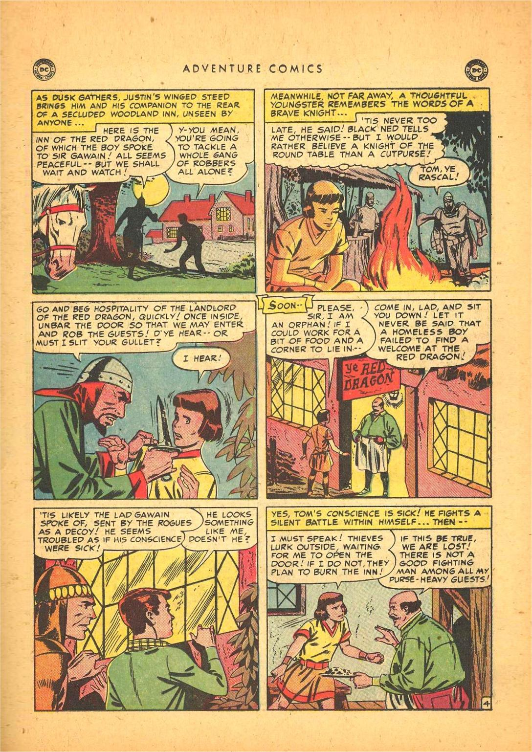 Read online Adventure Comics (1938) comic -  Issue #148 - 35