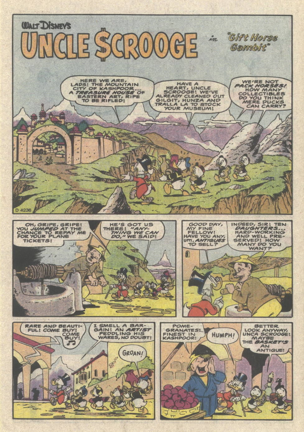 Read online Uncle Scrooge (1953) comic -  Issue #223 - 15