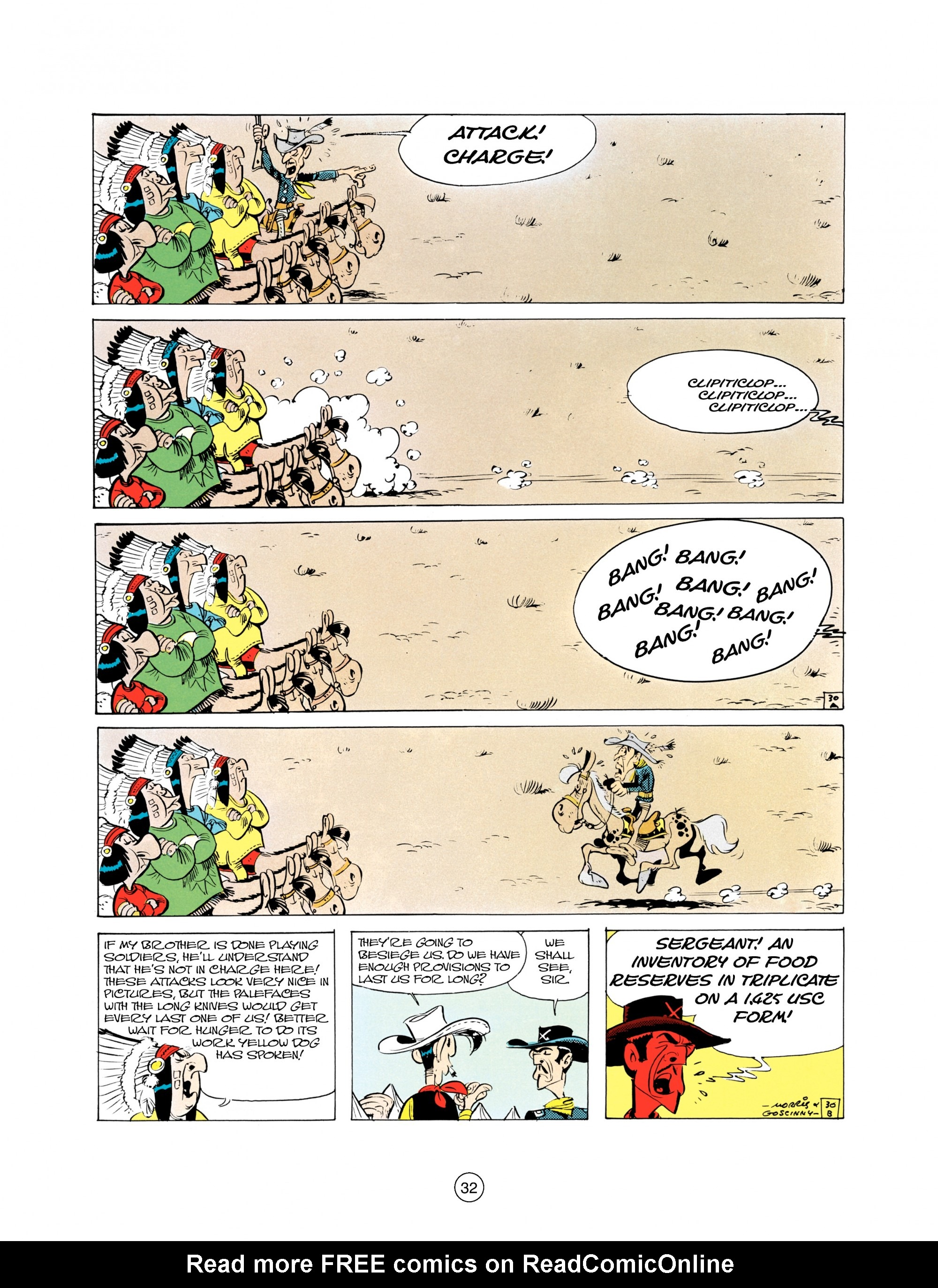 Read online A Lucky Luke Adventure comic -  Issue #21 - 32