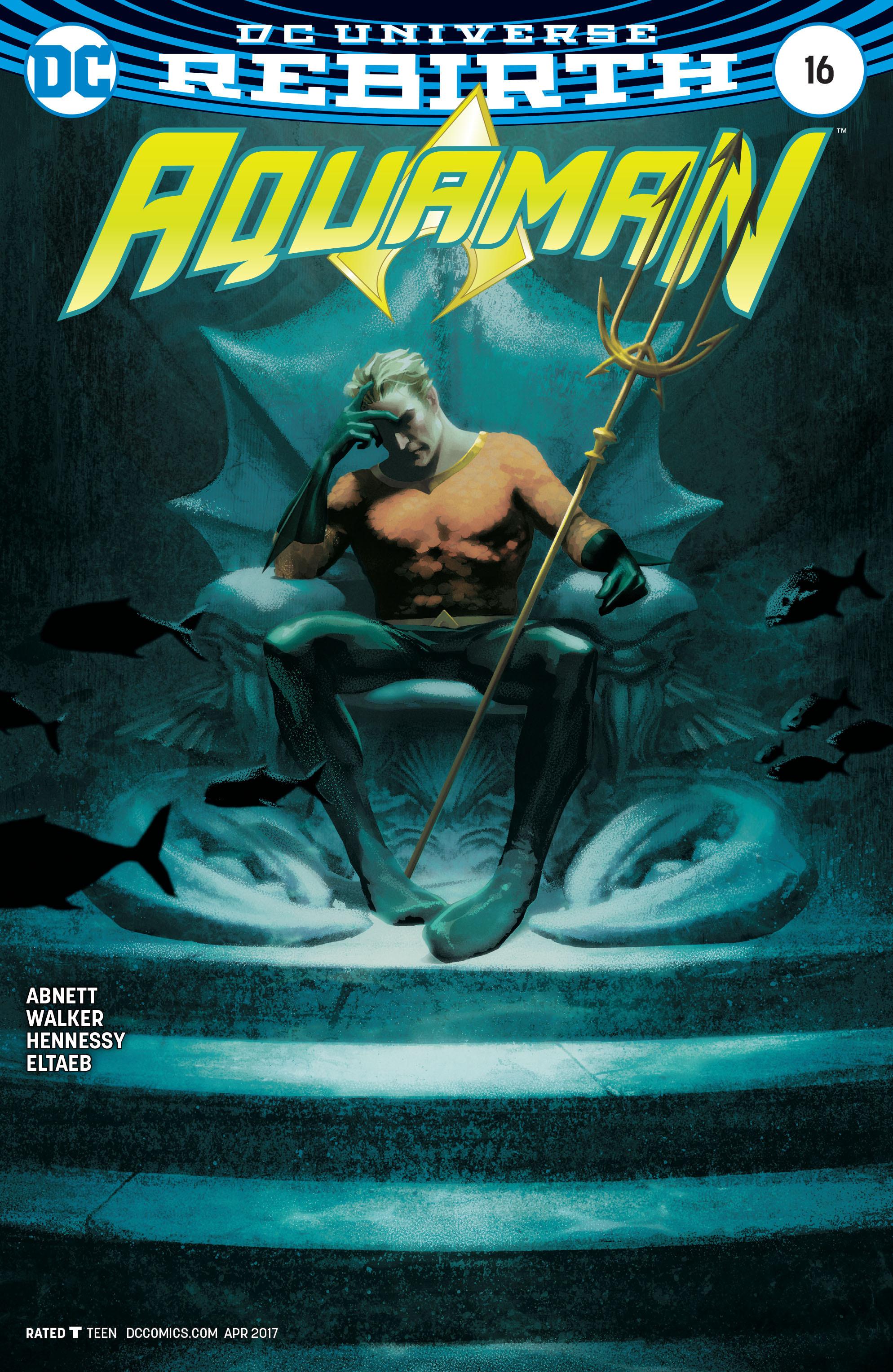 Read online Aquaman (2016) comic -  Issue #16 - 3