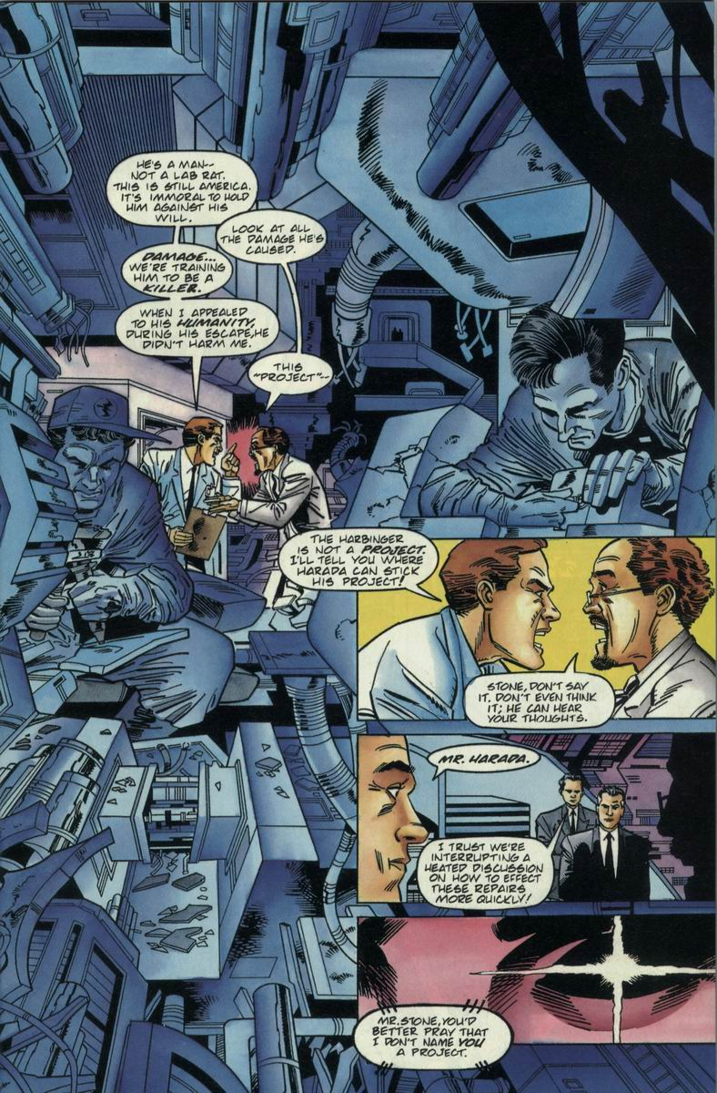Read online Harbinger Files comic -  Issue #2 - 8