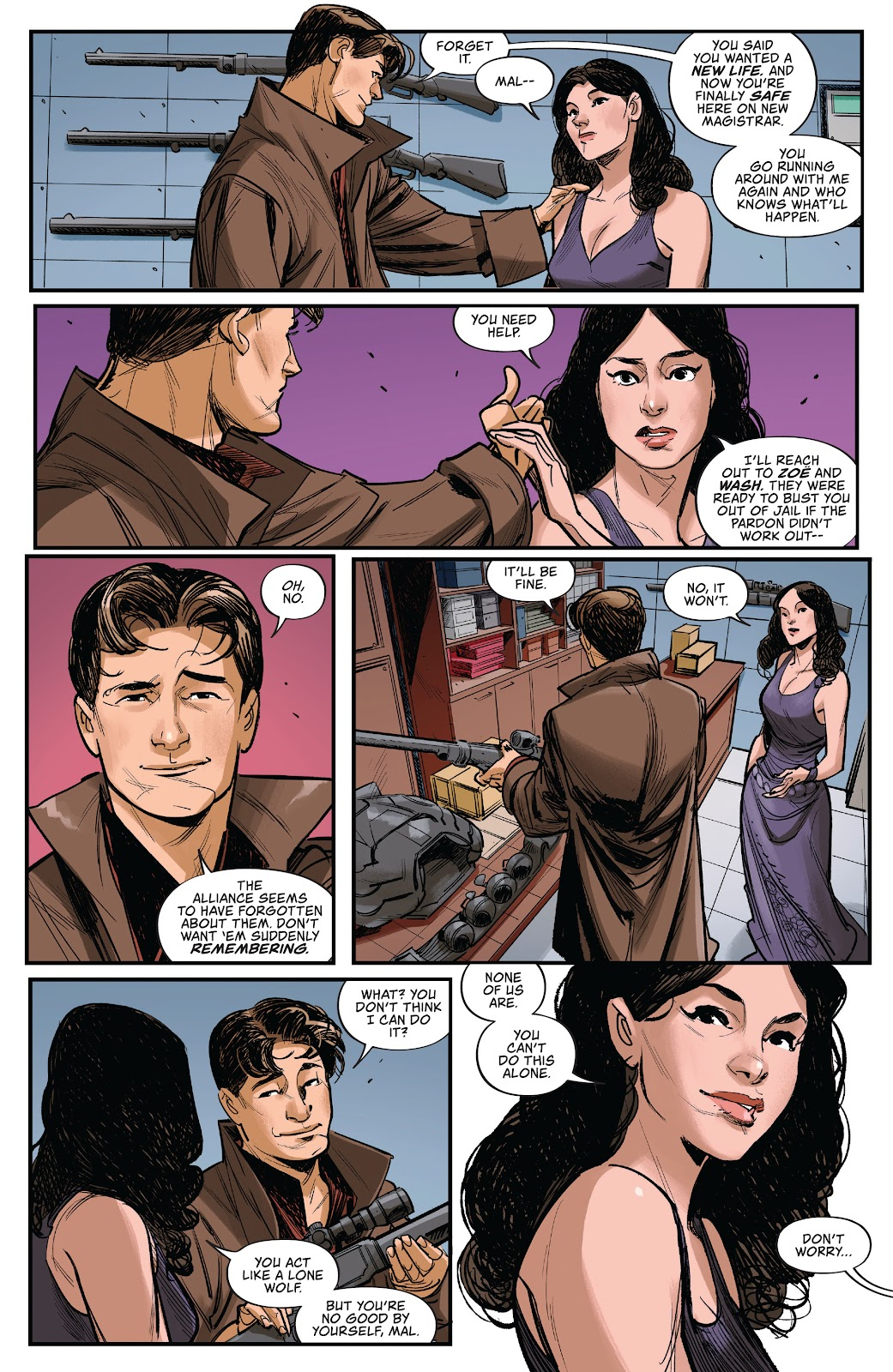 Read online Firefly: The Outlaw Ma Reynolds comic -  Issue # Full - 8
