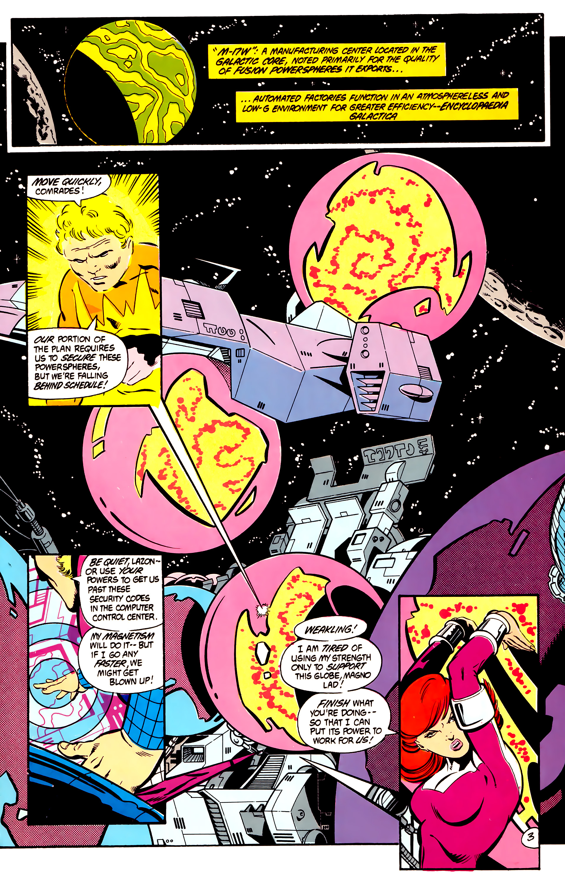 Legion of Super-Heroes (1984) 2 Page 4
