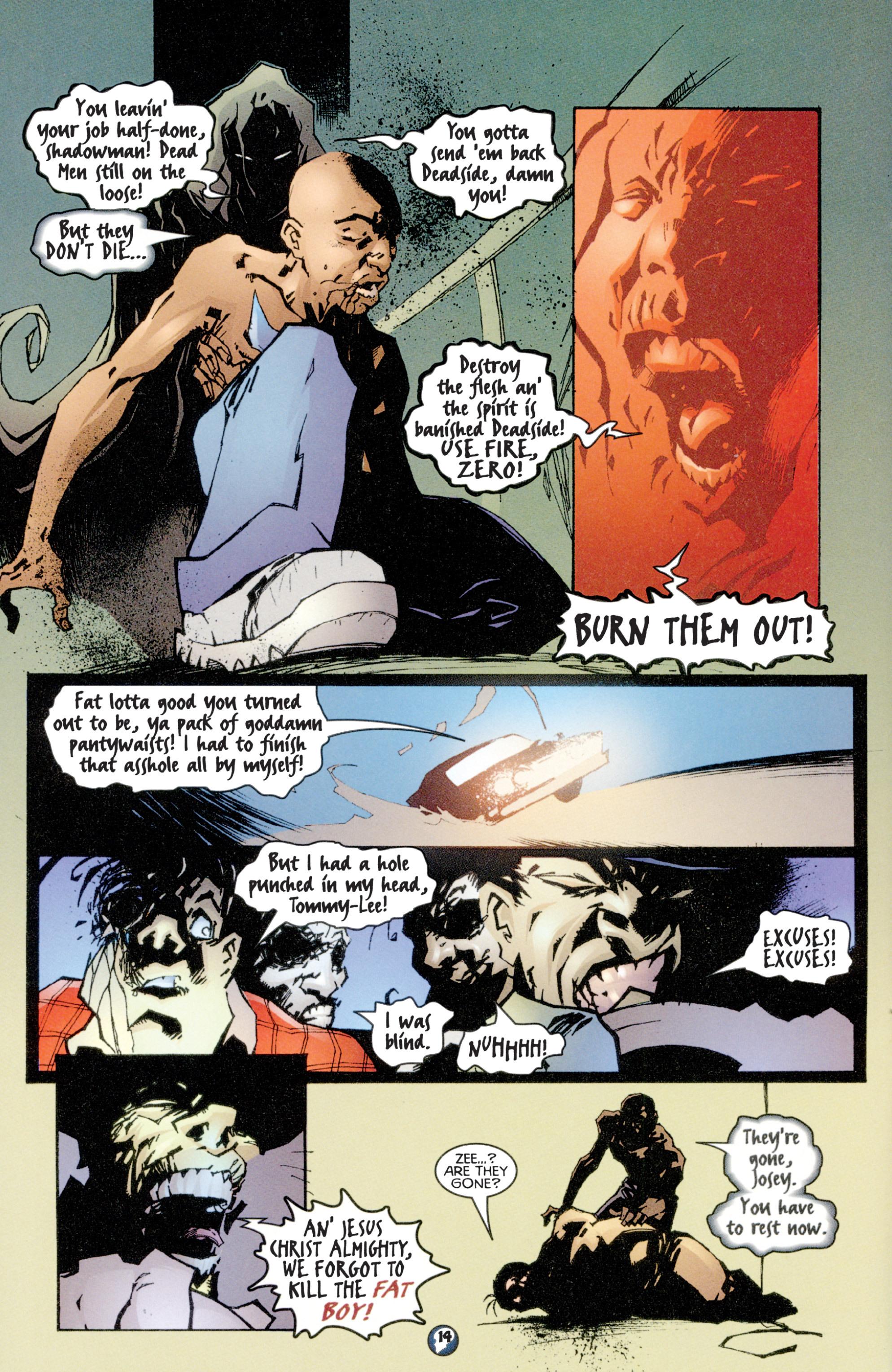 Read online Shadowman (1997) comic -  Issue #4 - 12