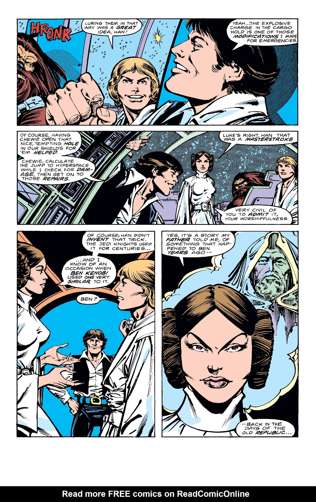 Read online Star Wars Legends: The Original Marvel Years - Epic Collection comic -  Issue # TPB 2 (Part 1) - 10