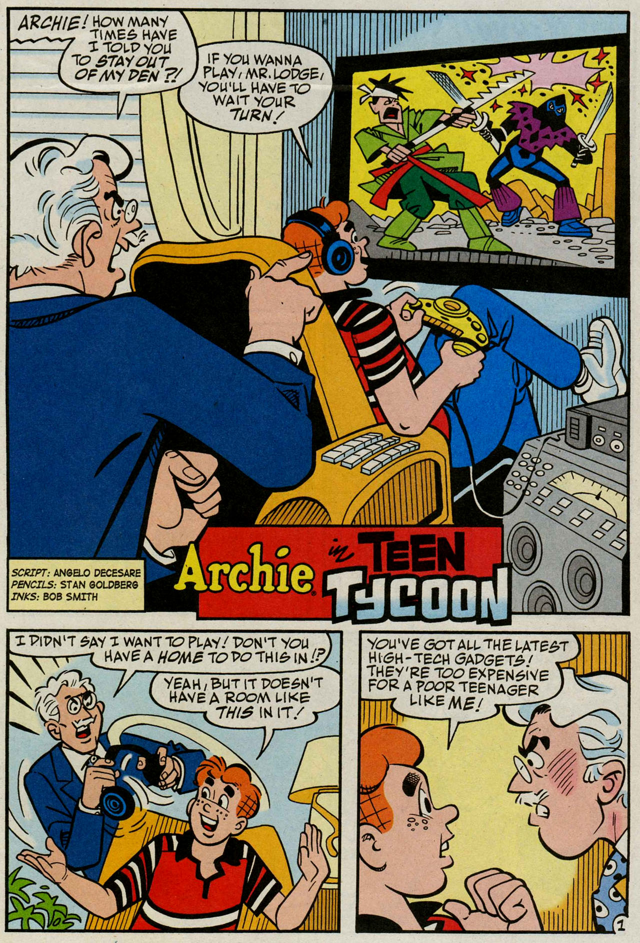 Read online Archie (1960) comic -  Issue #586 - 19