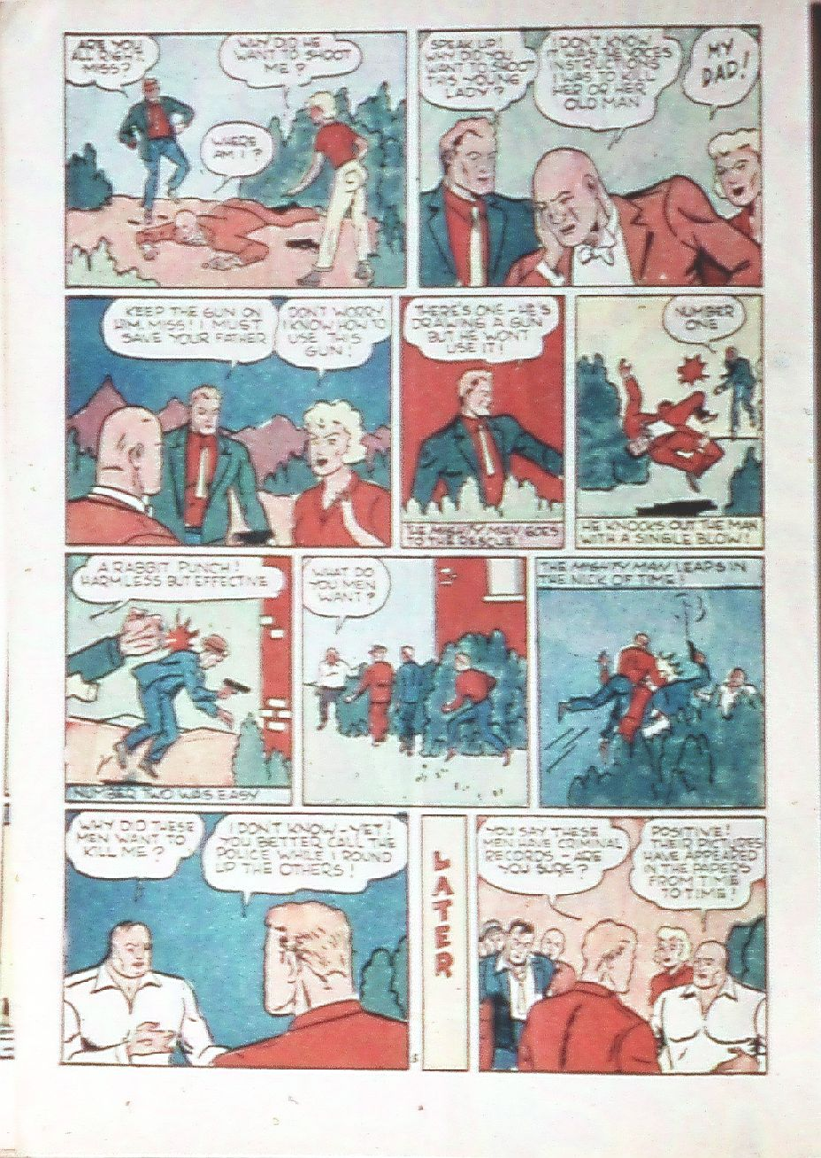 Read online Amazing Man Comics comic -  Issue #18 - 38