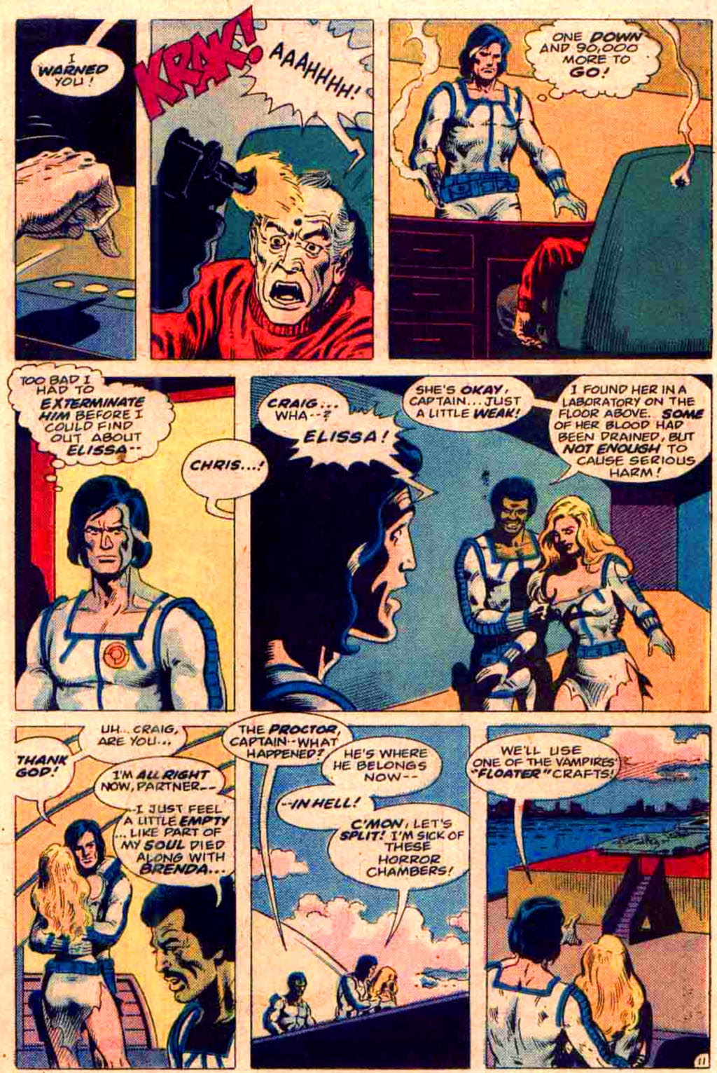 Read online Planet of Vampires comic -  Issue #3 - 11