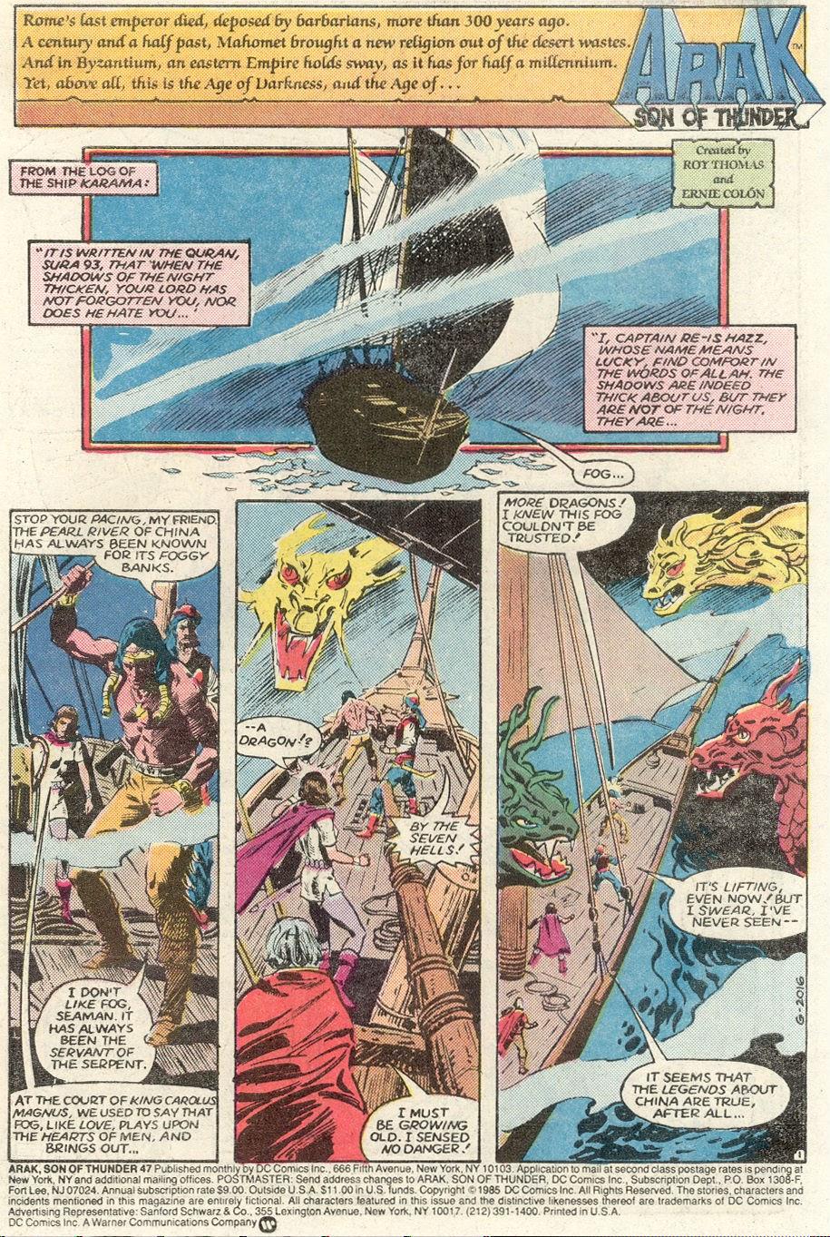 Arak Son of Thunder 47 Page 2