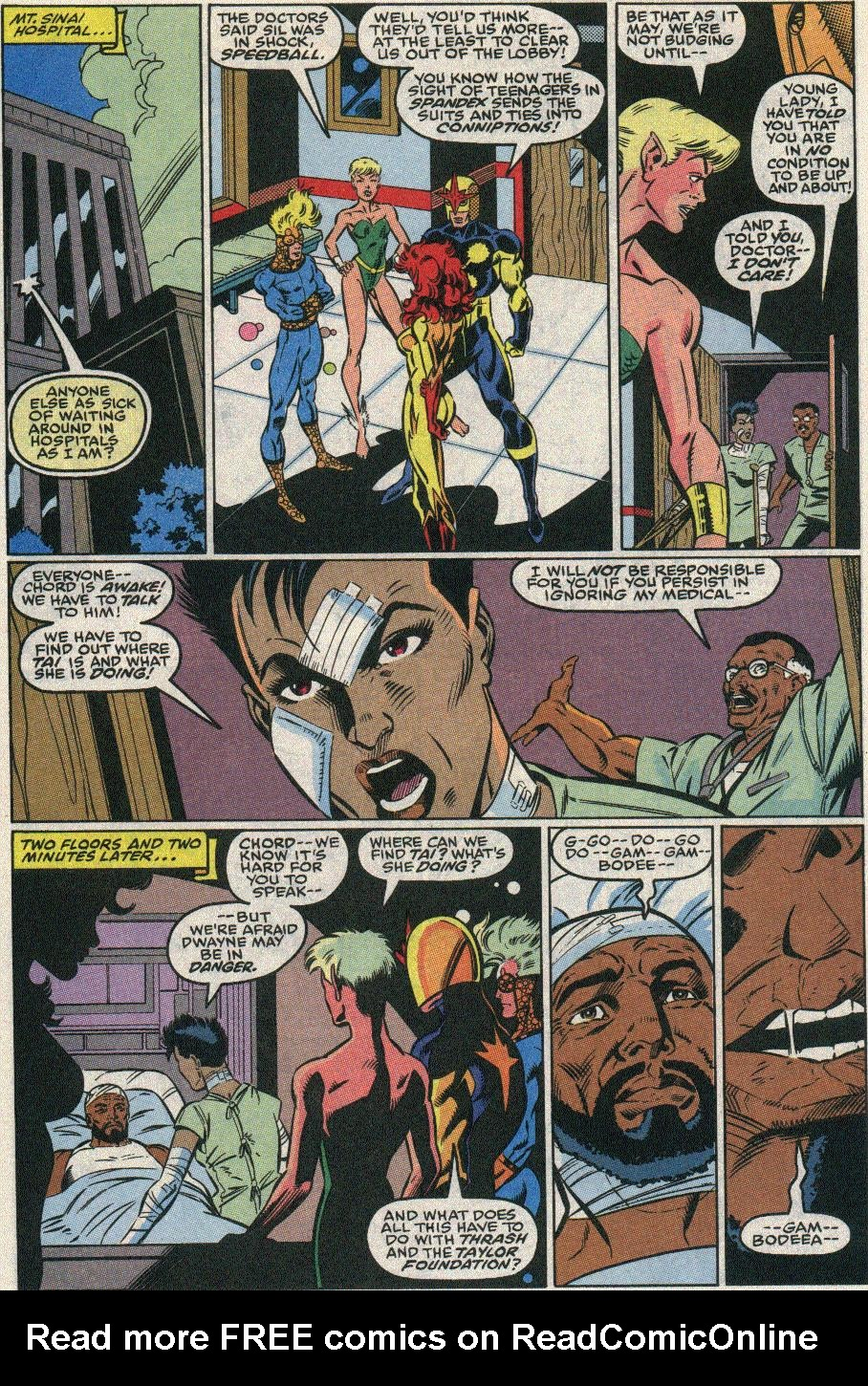 The New Warriors Issue #22 #26 - English 11