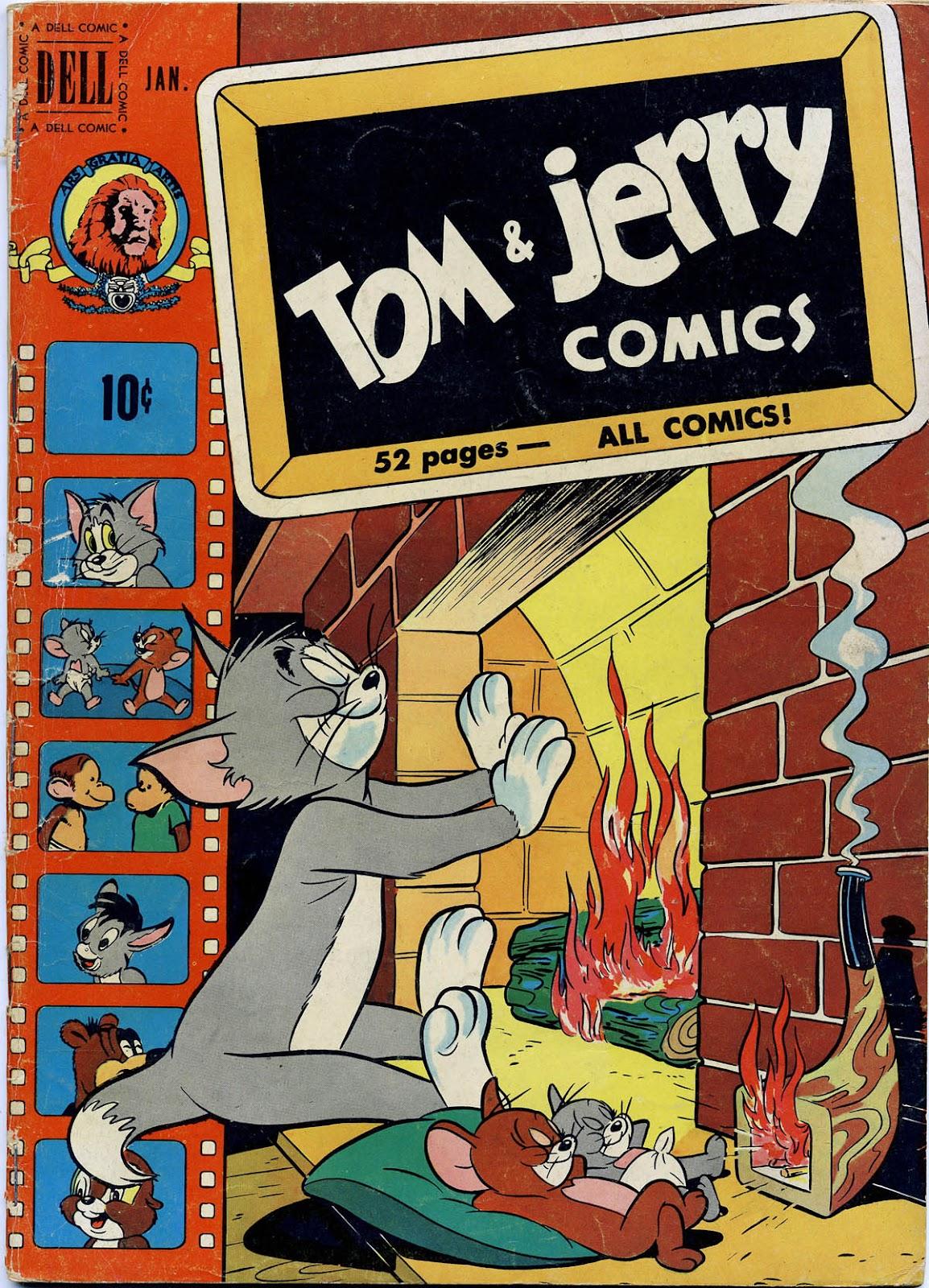 Tom & Jerry Comics 78 Page 1