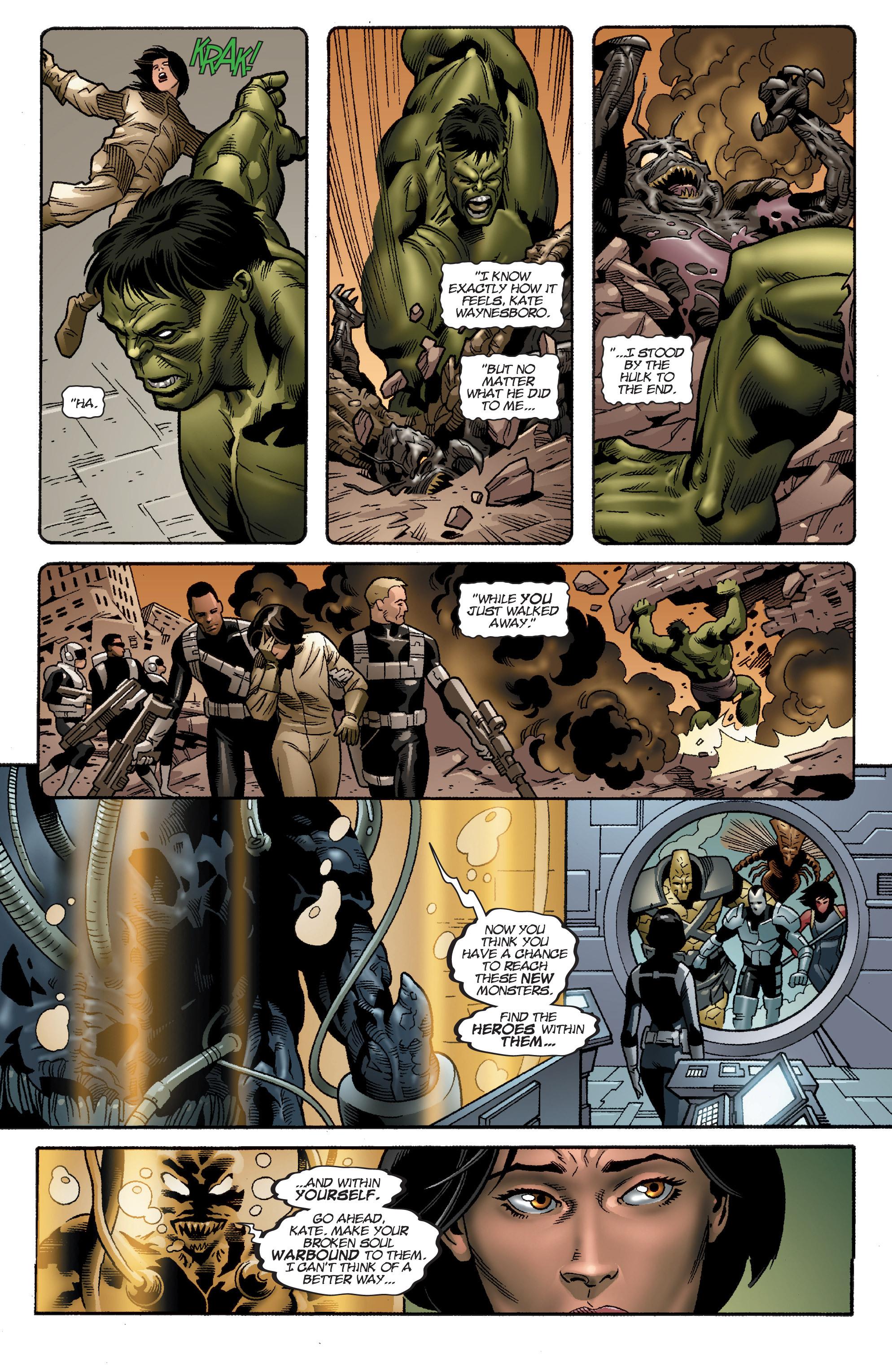 Read online World War Hulk Aftersmash: Warbound, Vol. 1 comic -  Issue #5 - 4
