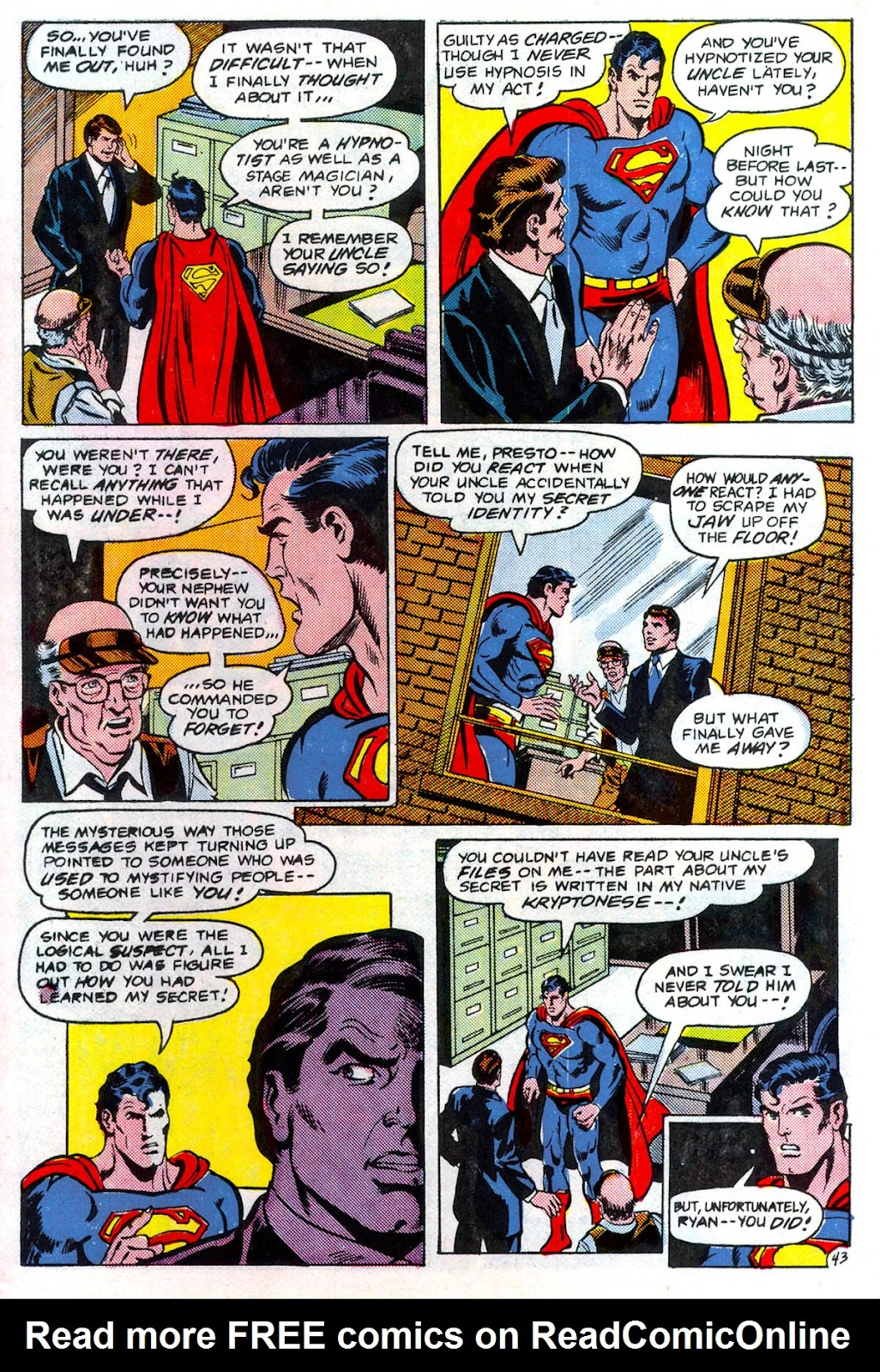 Read online Superman Special (1983) comic -  Issue #3 - 44