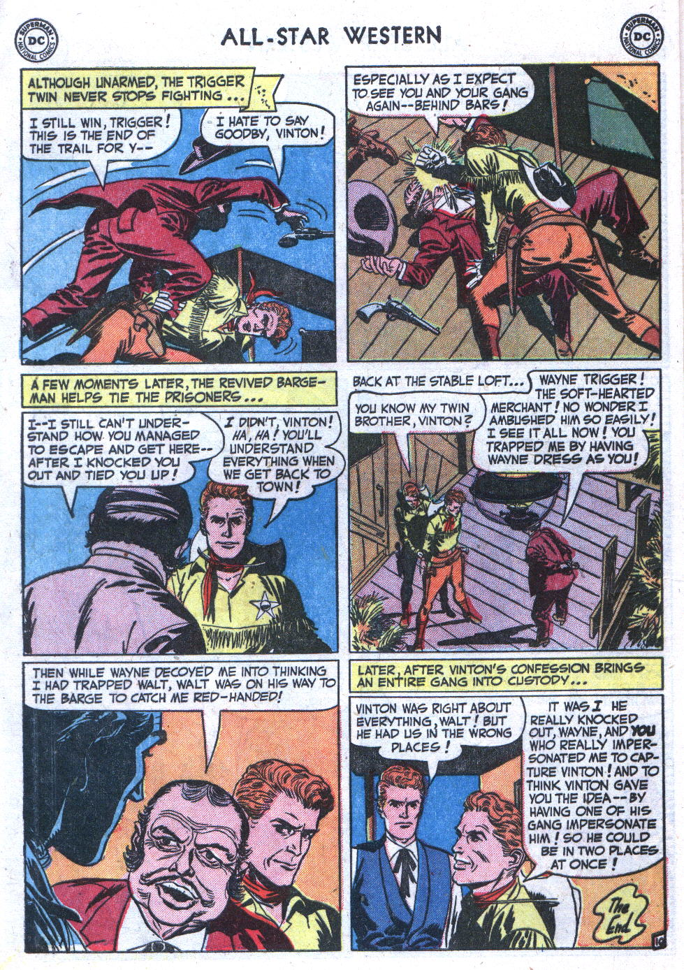 Read online All-Star Western (1951) comic -  Issue #59 - 12