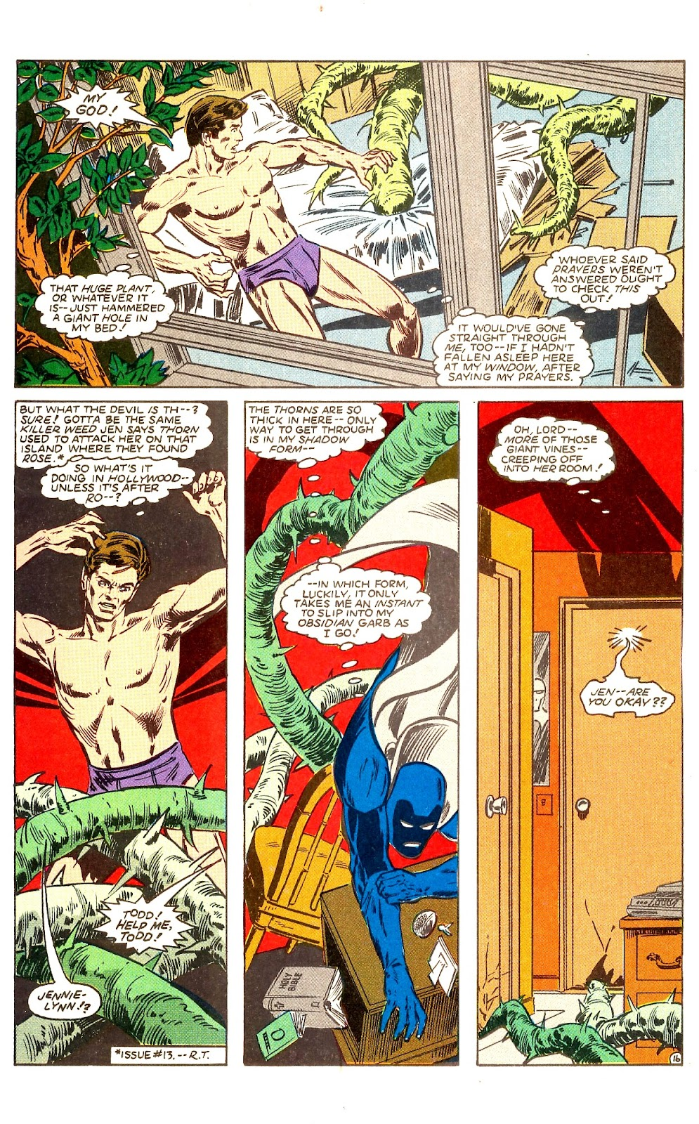Infinity Inc. (1984) issue Annual 1 - Page 19