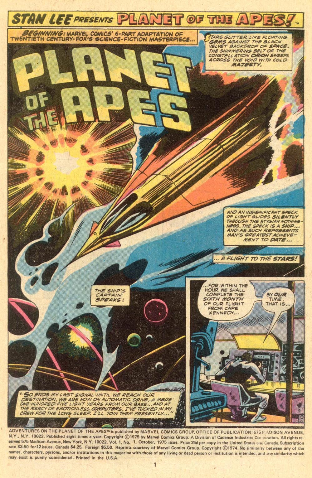 Read online Adventures on the Planet of the Apes comic -  Issue #1 - 2
