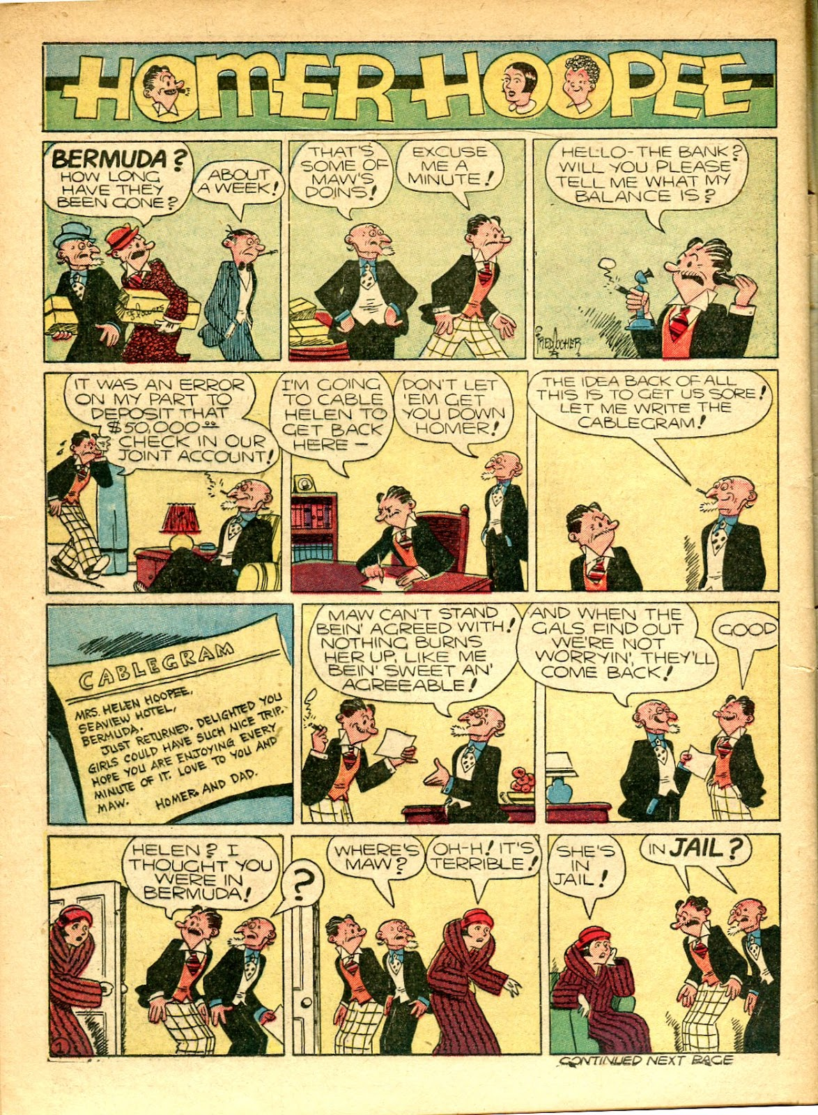 Read online Famous Funnies comic -  Issue #77 - 61