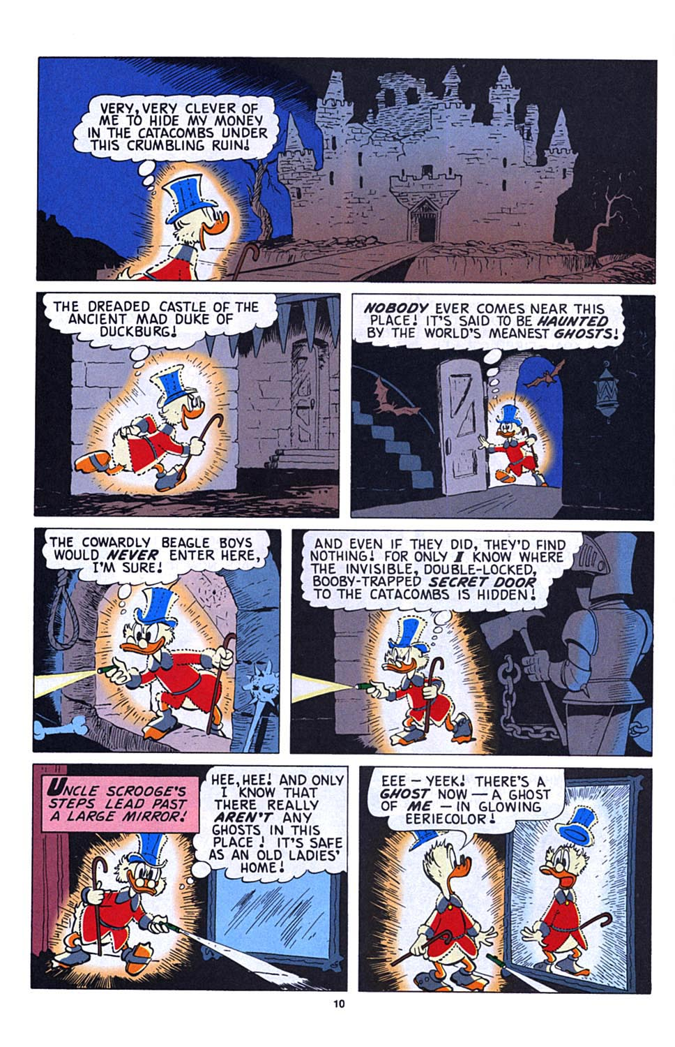 Read online Uncle Scrooge (1953) comic -  Issue #273 - 11