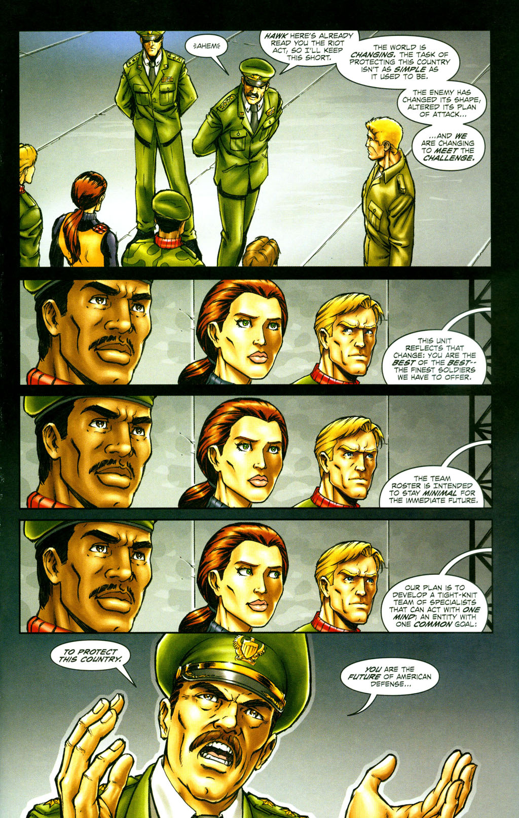 Read online Snake Eyes: Declassified comic -  Issue #6 - 5
