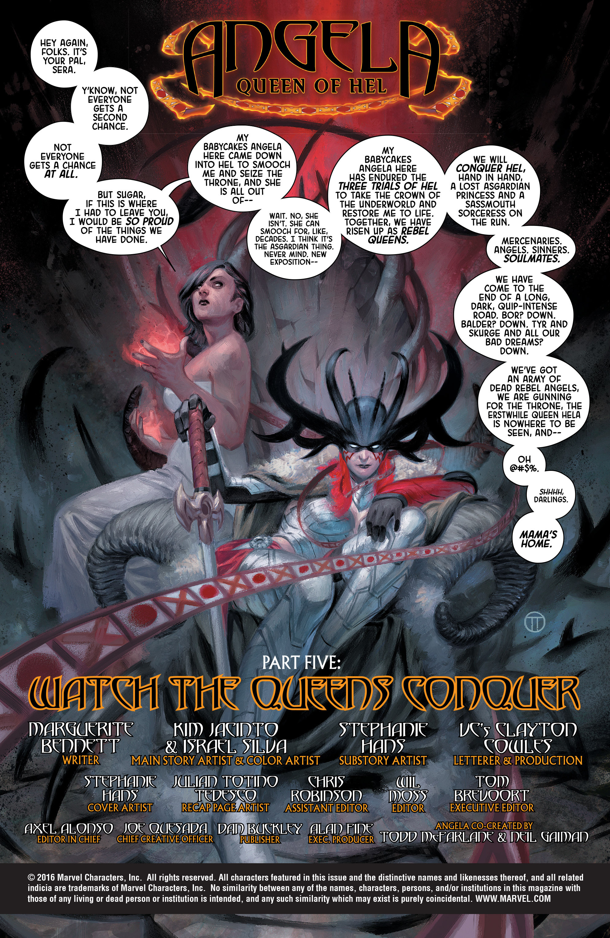 Read online Angela: Queen Of Hel comic -  Issue #5 - 2